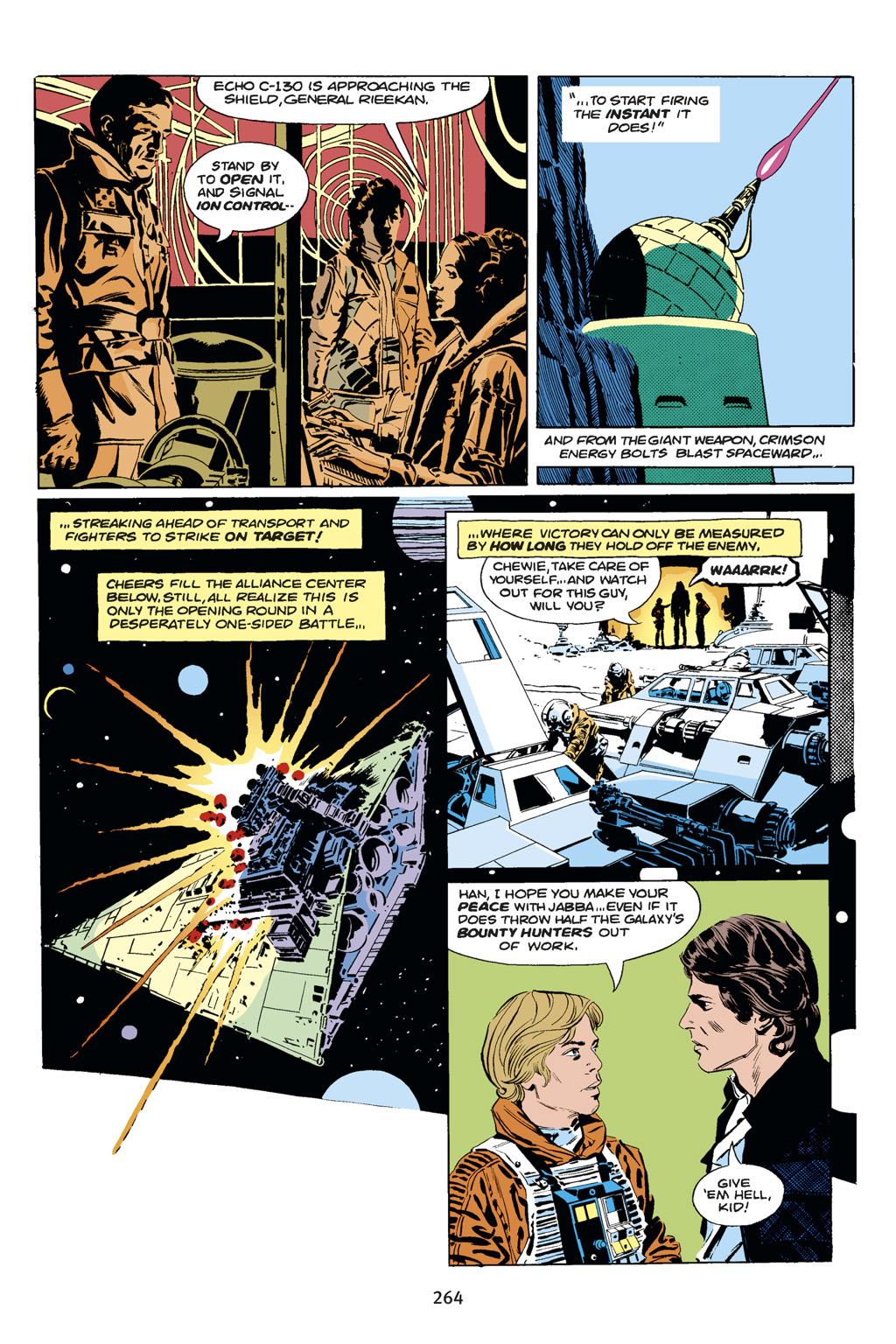 Read online Star Wars Omnibus comic -  Issue # Vol. 14 - 262