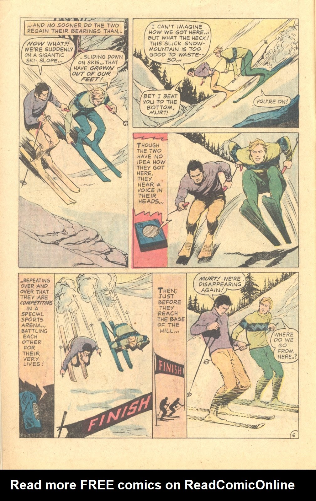 Read online Strange Sports Stories (1973) comic -  Issue #6 - 7