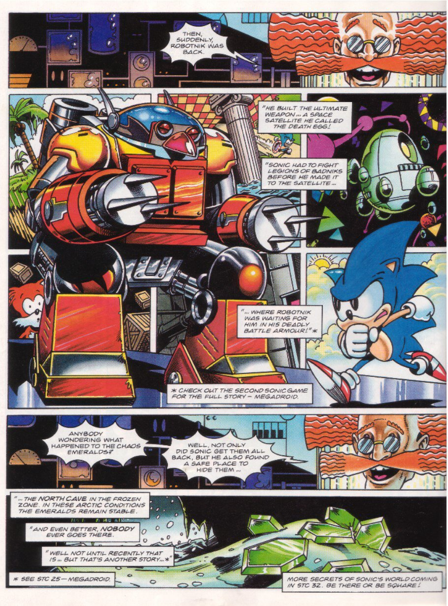 Read online Sonic the Comic comic -  Issue #27 - 23