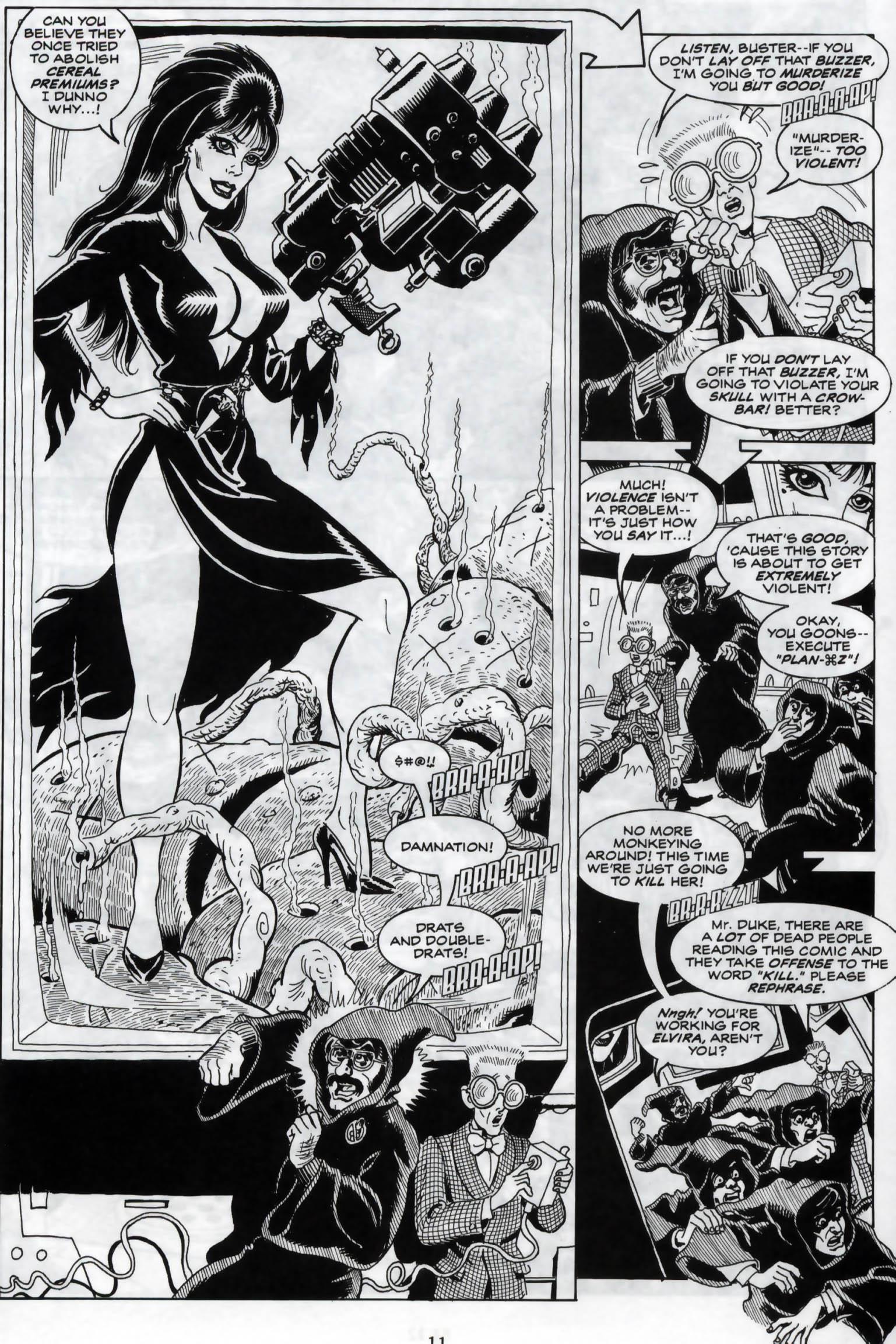 Read online Elvira, Mistress of the Dark comic -  Issue #120 - 13