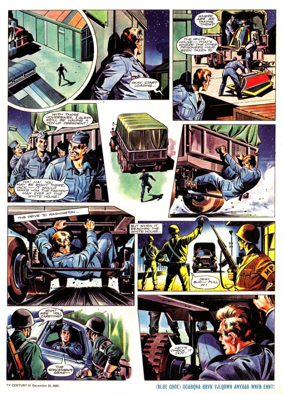 Read online TV Century 21 (TV 21) comic -  Issue #49 - 5