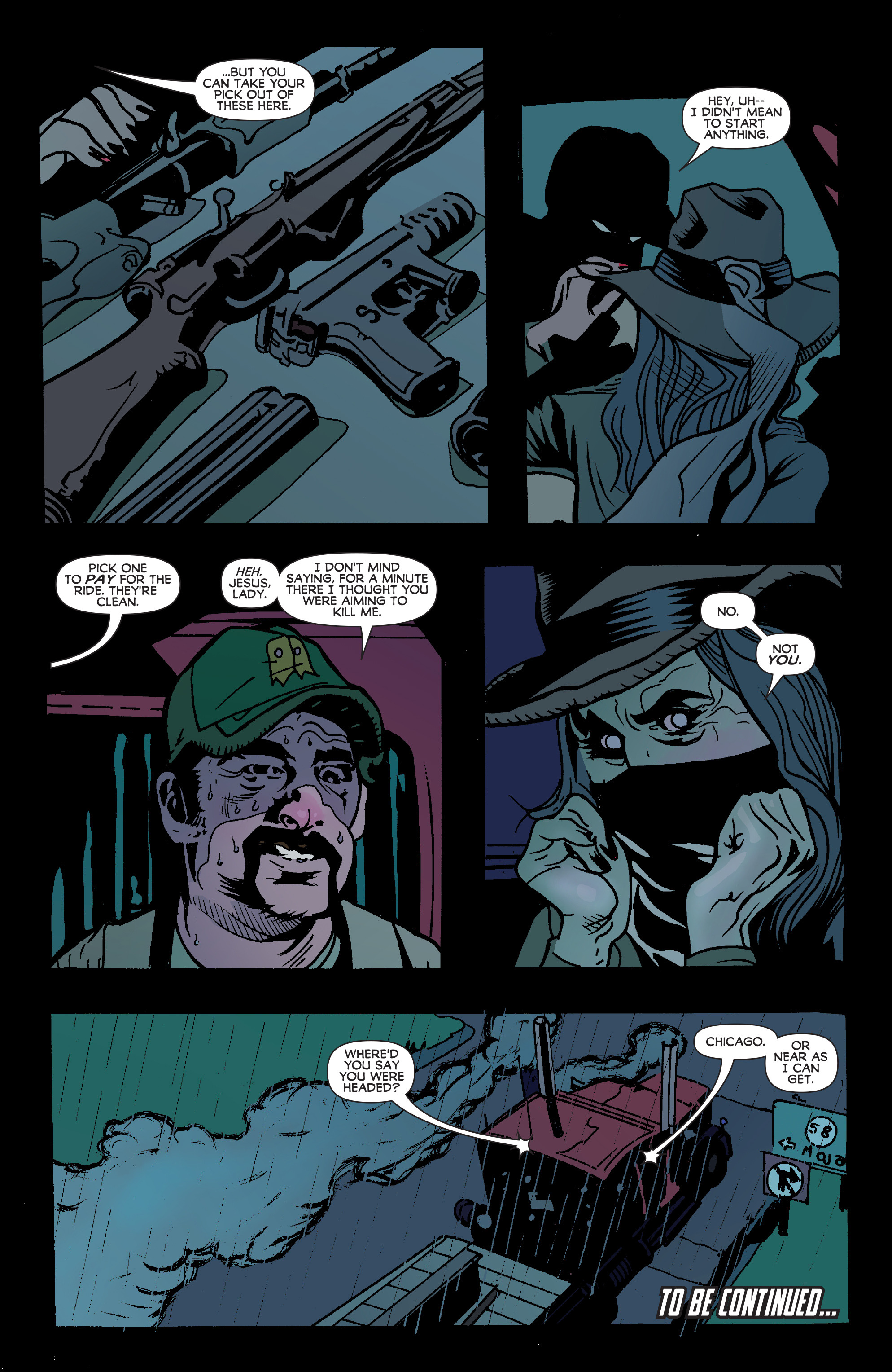 Read online Blood Blister comic -  Issue #2 - 22