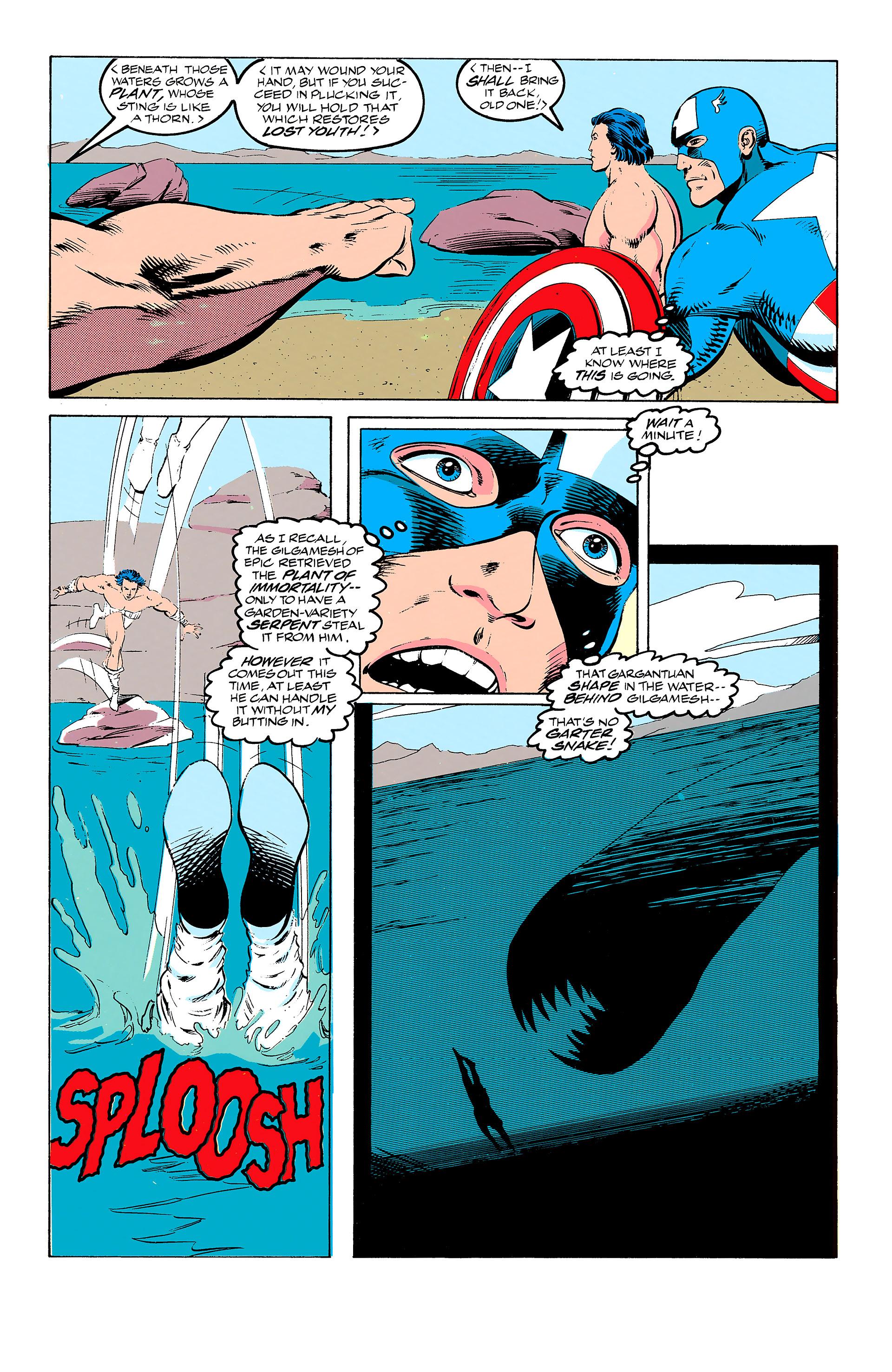 Read online Captain America (1968) comic -  Issue # _Annual 11 - 20