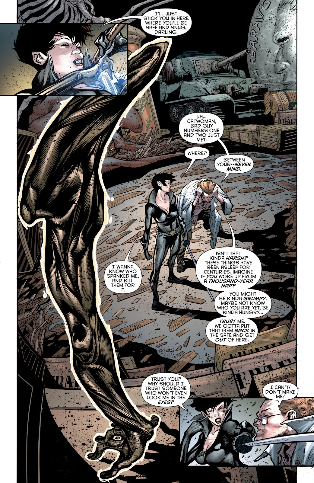 Comic Catwoman (2011) issue 19