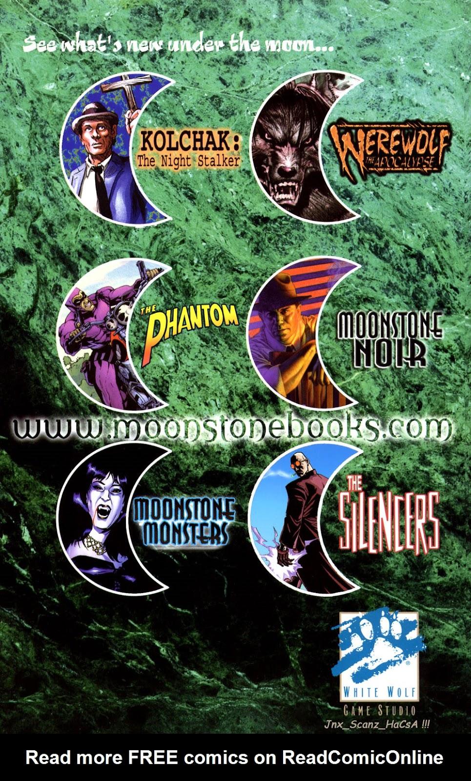 Read online Vampire the Masquerade comic -  Issue # Giovanni - 51