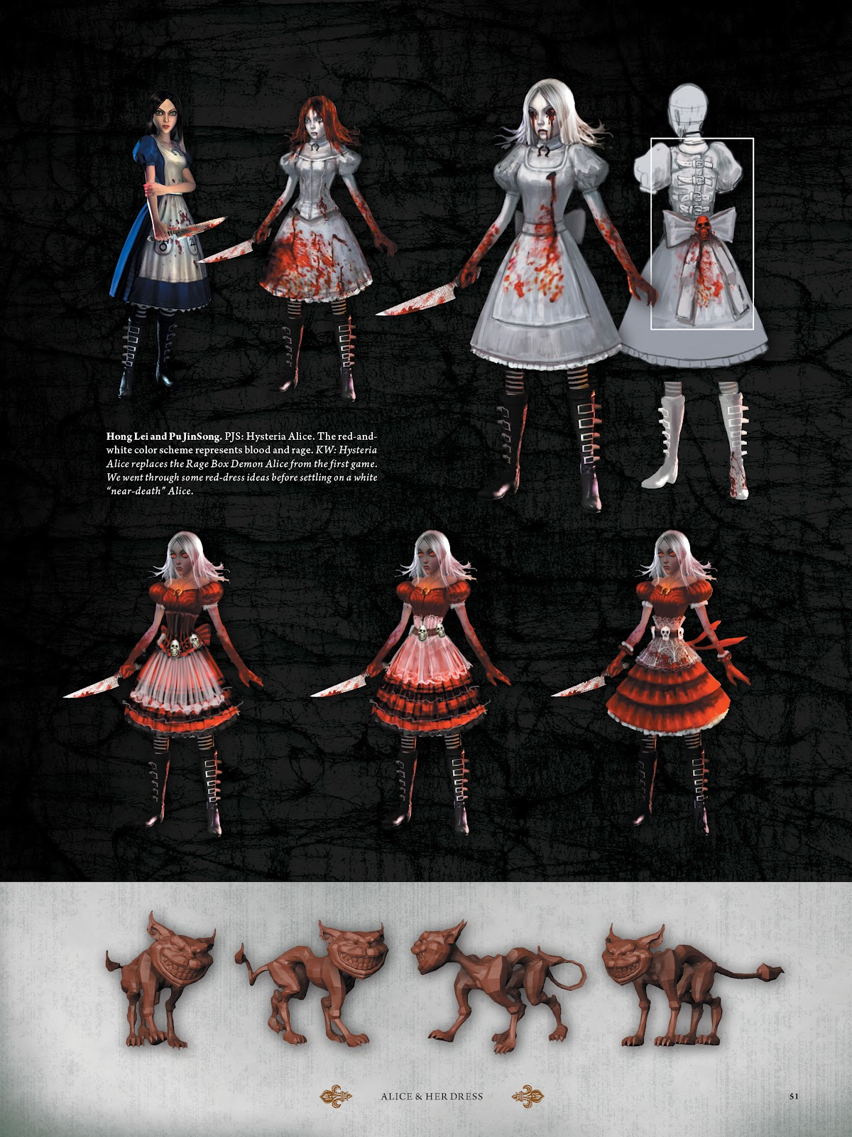 Read online The Art of Alice: Madness Returns comic -  Issue # TPB (Part 1) - 48