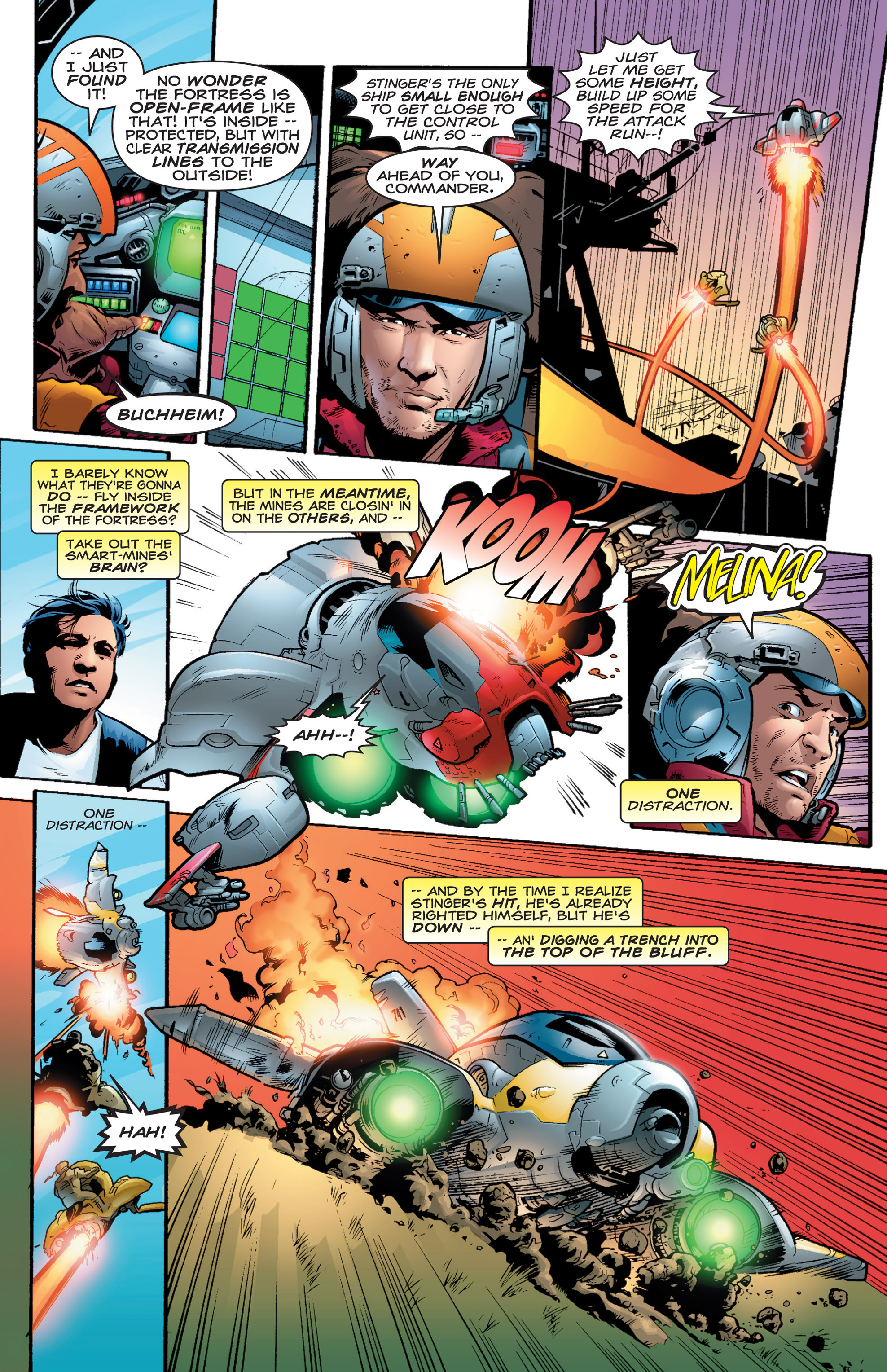 Read online Shockrockets comic -  Issue # TPB - 20