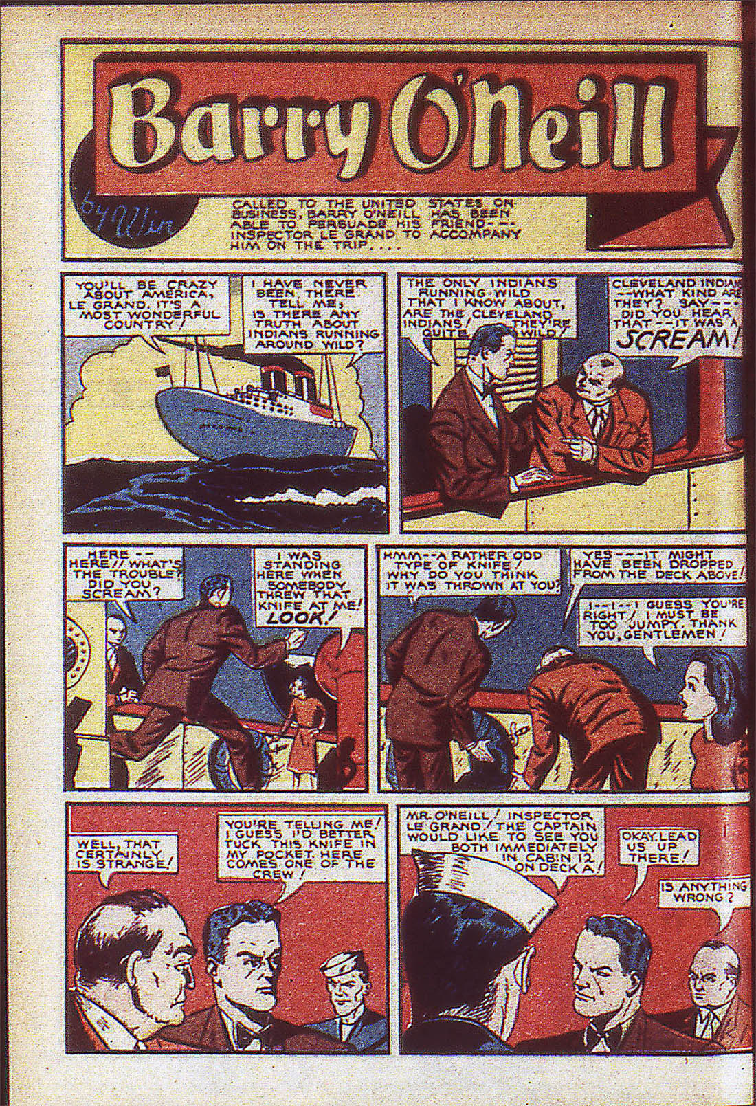 Read online Adventure Comics (1938) comic -  Issue #59 - 13