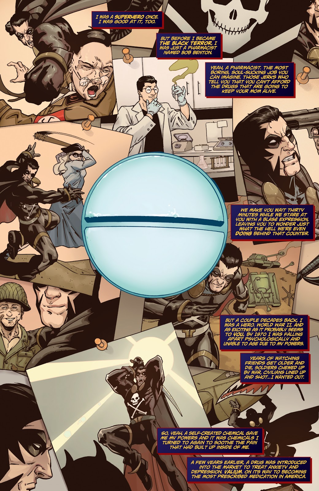 Read online Black Terror (2019) comic -  Issue # Full - 7