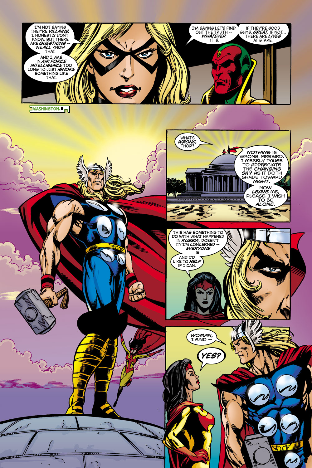 Read online Avengers (1998) comic -  Issue #45 - 13