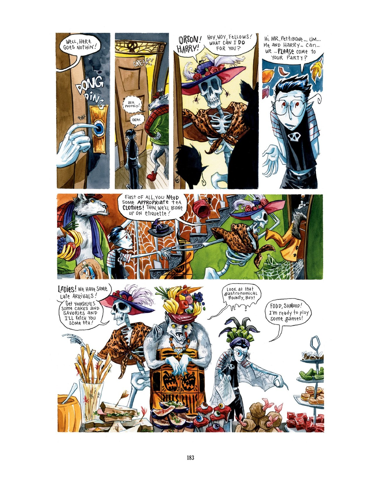 Read online Scary Godmother comic -  Issue # TPB - 183