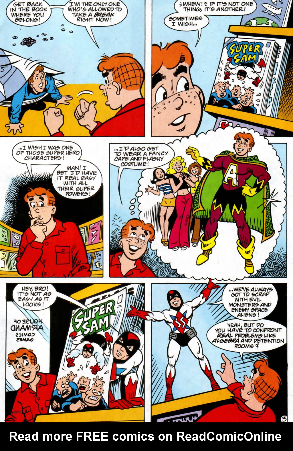 Read online Archie (1960) comic -  Issue #561 - 4