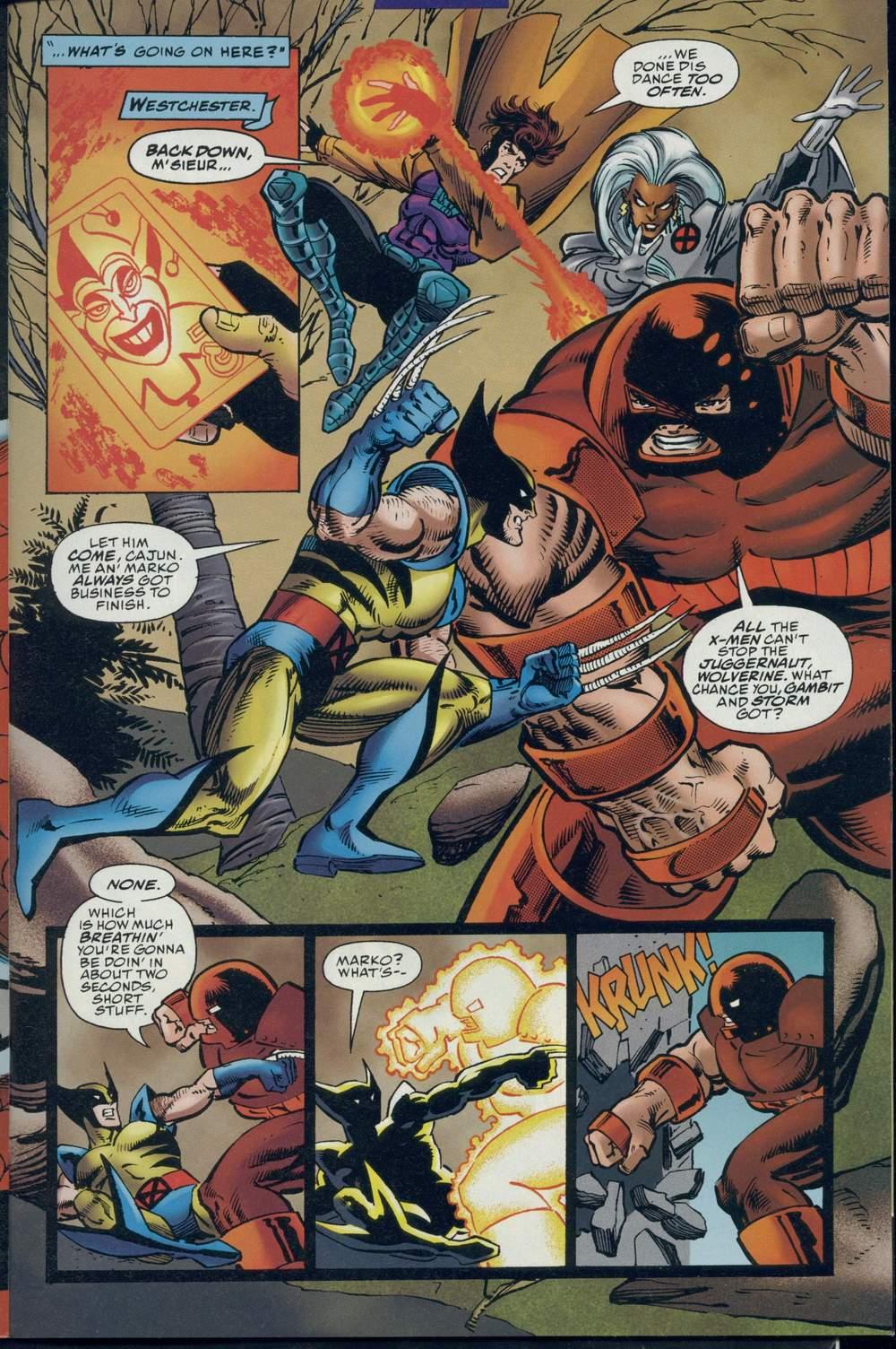 Read online DC Versus Marvel Comics comic -  Issue #1 - 9