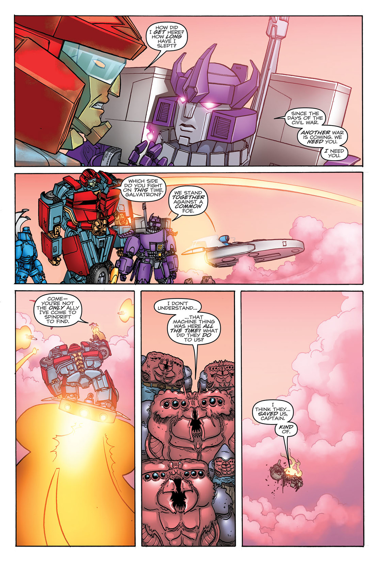 Read online Transformers: Heart of Darkness comic -  Issue #3 - 13