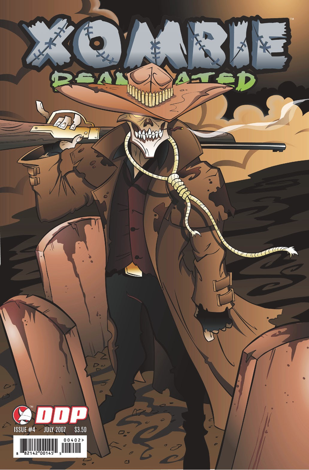 Read online Xombie Reanimated comic -  Issue #4 - 2