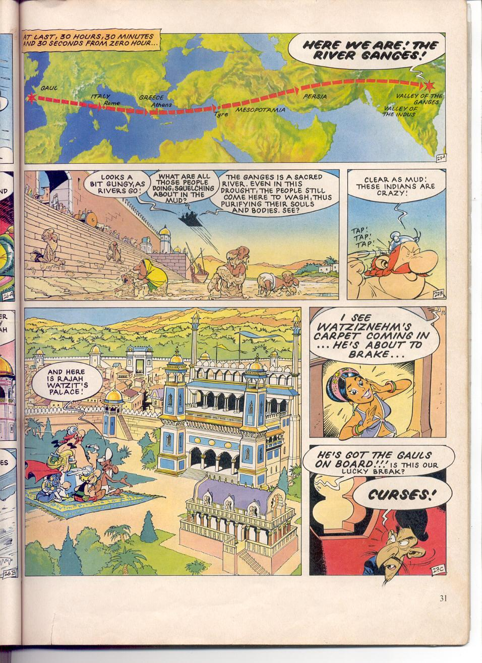 Read online Asterix comic -  Issue #28 - 28