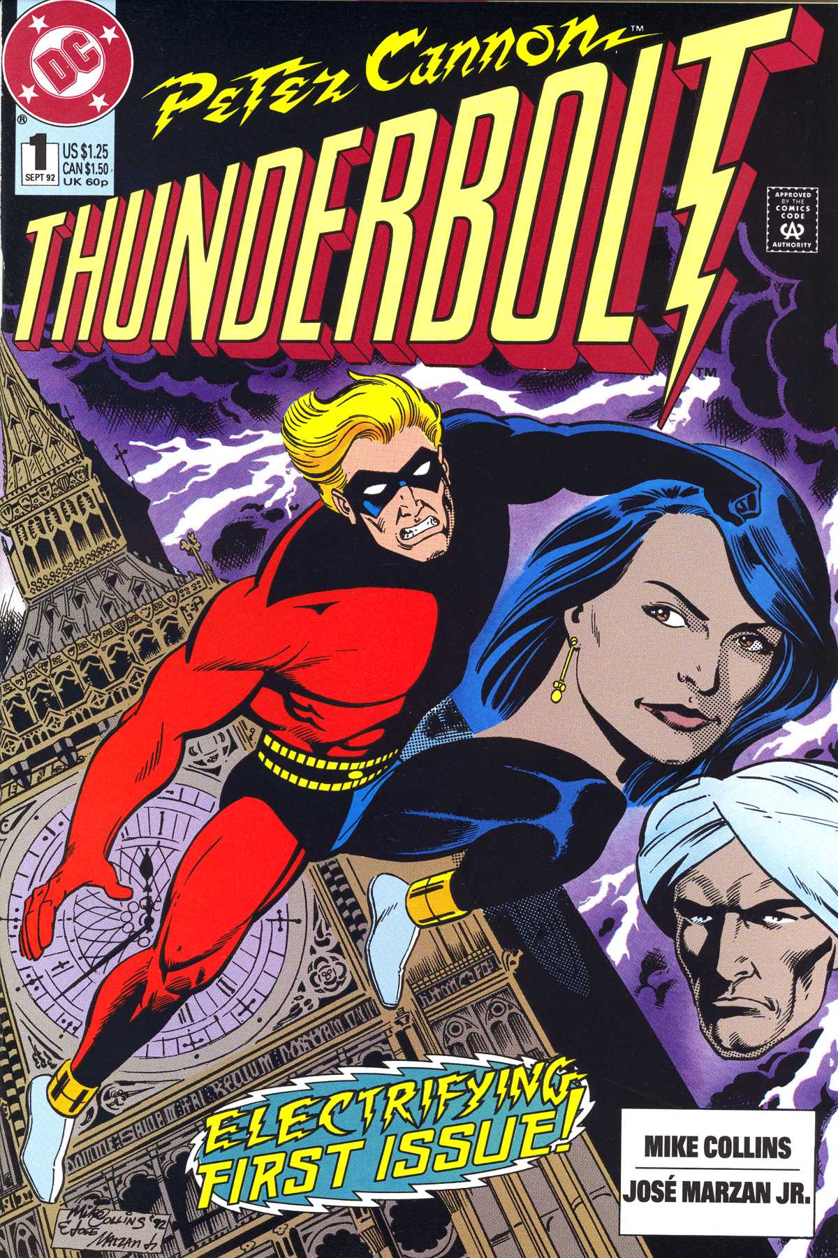 Read online Peter Cannon--Thunderbolt (1992) comic -  Issue #1 - 1