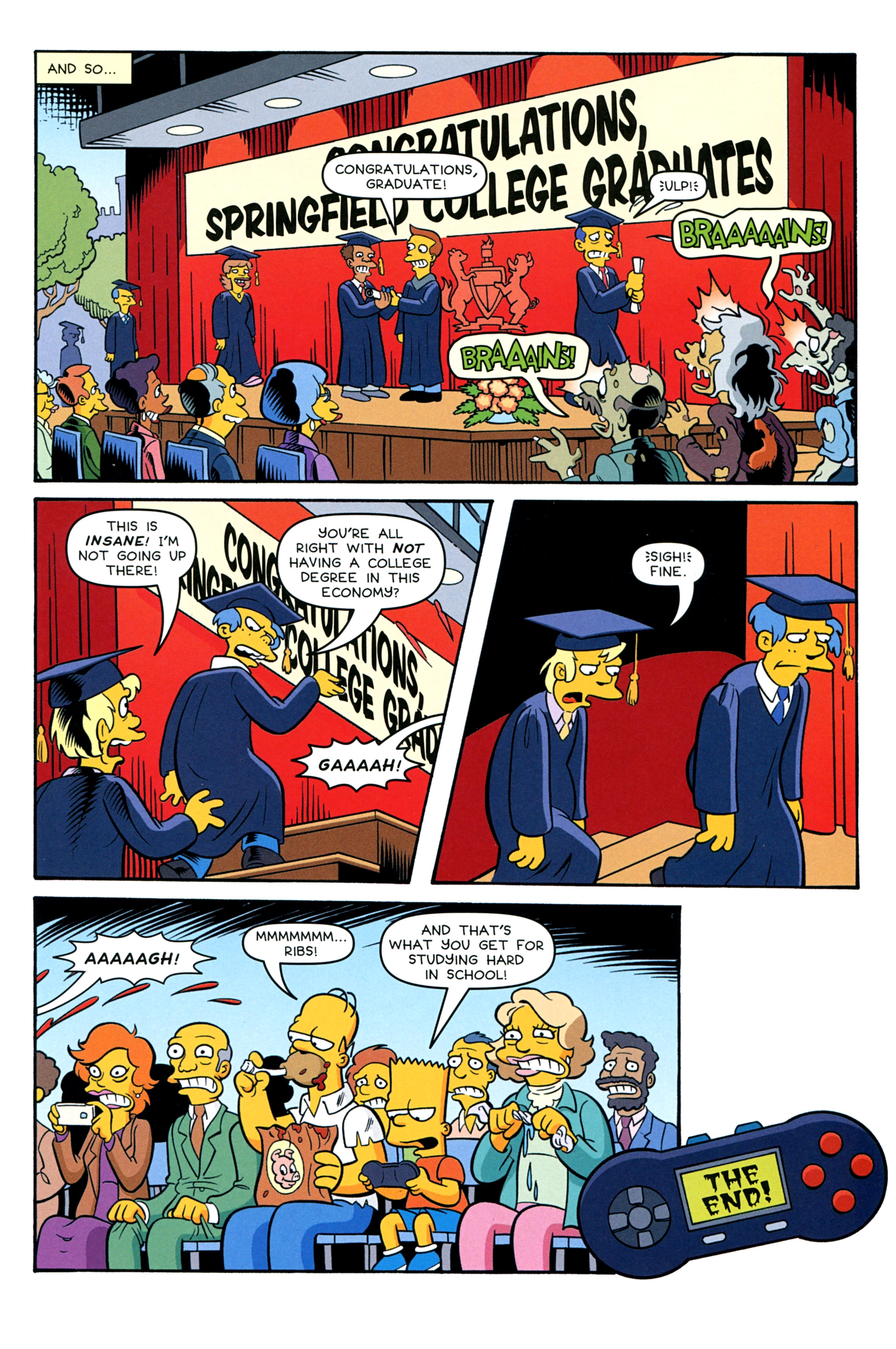 Read online Treehouse of Horror comic -  Issue #20 - 47