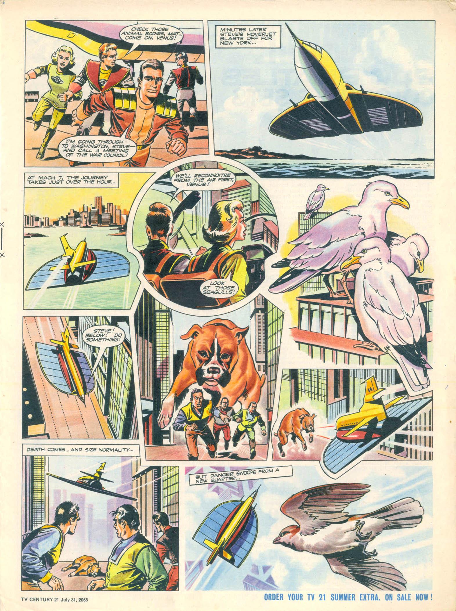 Read online TV Century 21 (TV 21) comic -  Issue #28 - 5