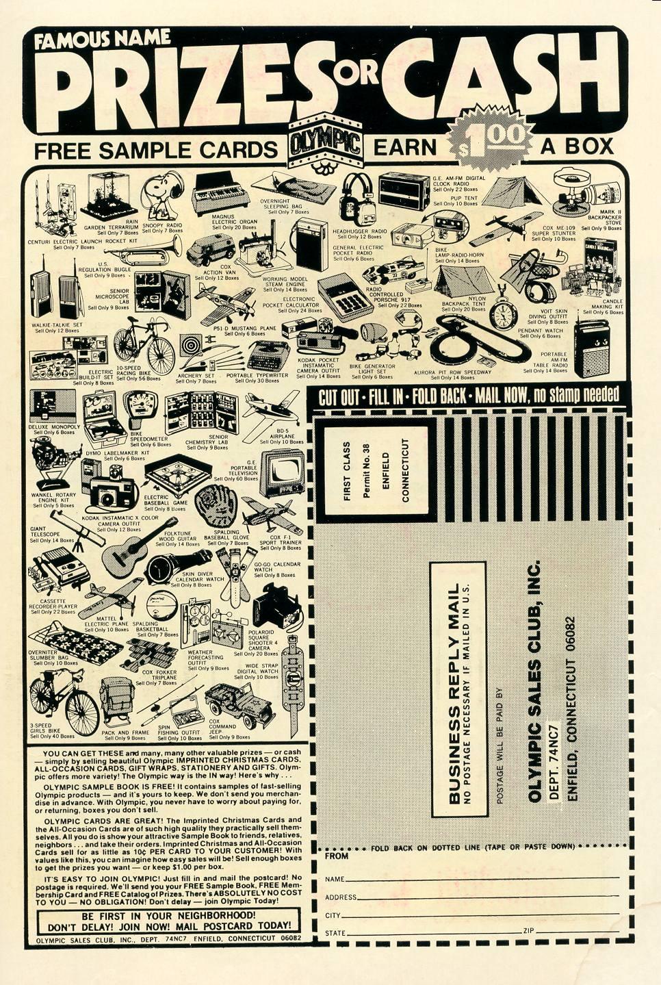 Read online Secret Origins (1973) comic -  Issue #7 - 34