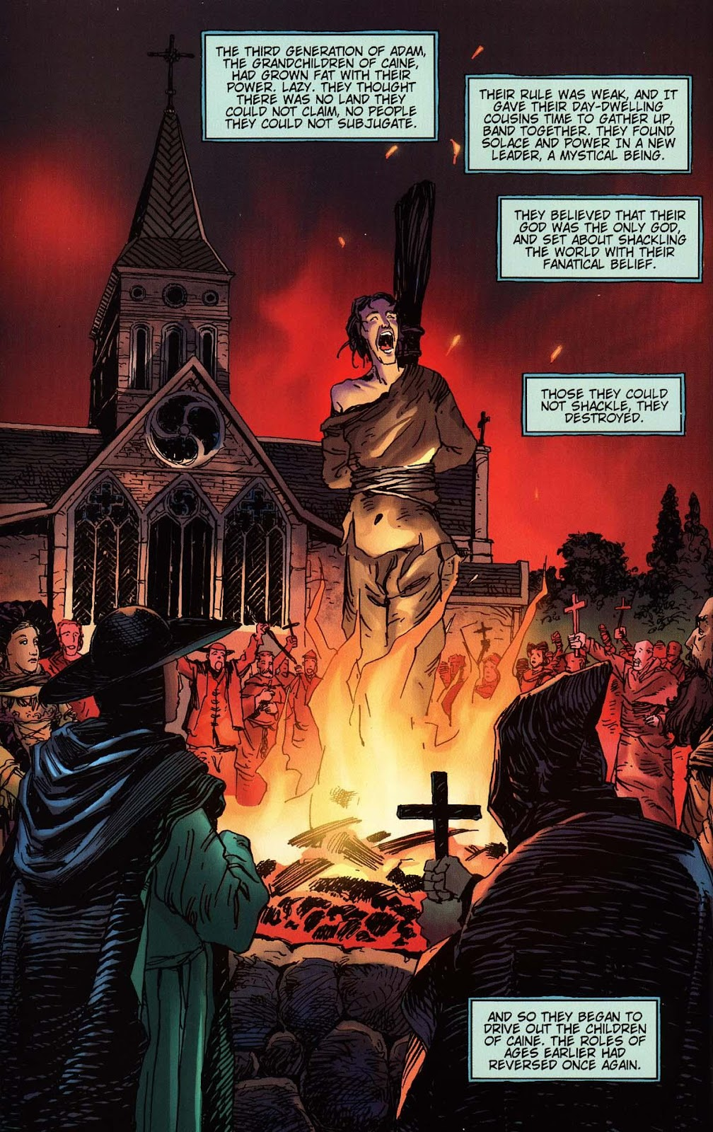 Read online Vampire the Masquerade comic -  Issue # Toreador - 30
