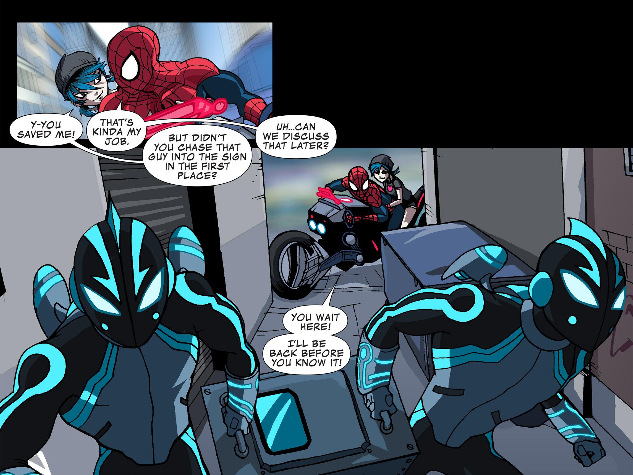 Read online Ultimate Spider-Man (Infinite Comics) (2015) comic -  Issue #12 - 24