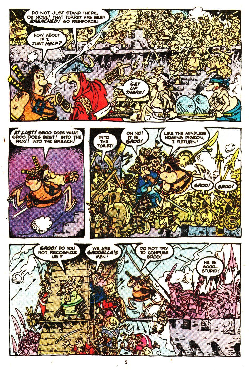 Read online Sergio Aragonés Groo the Wanderer comic -  Issue #20 - 5