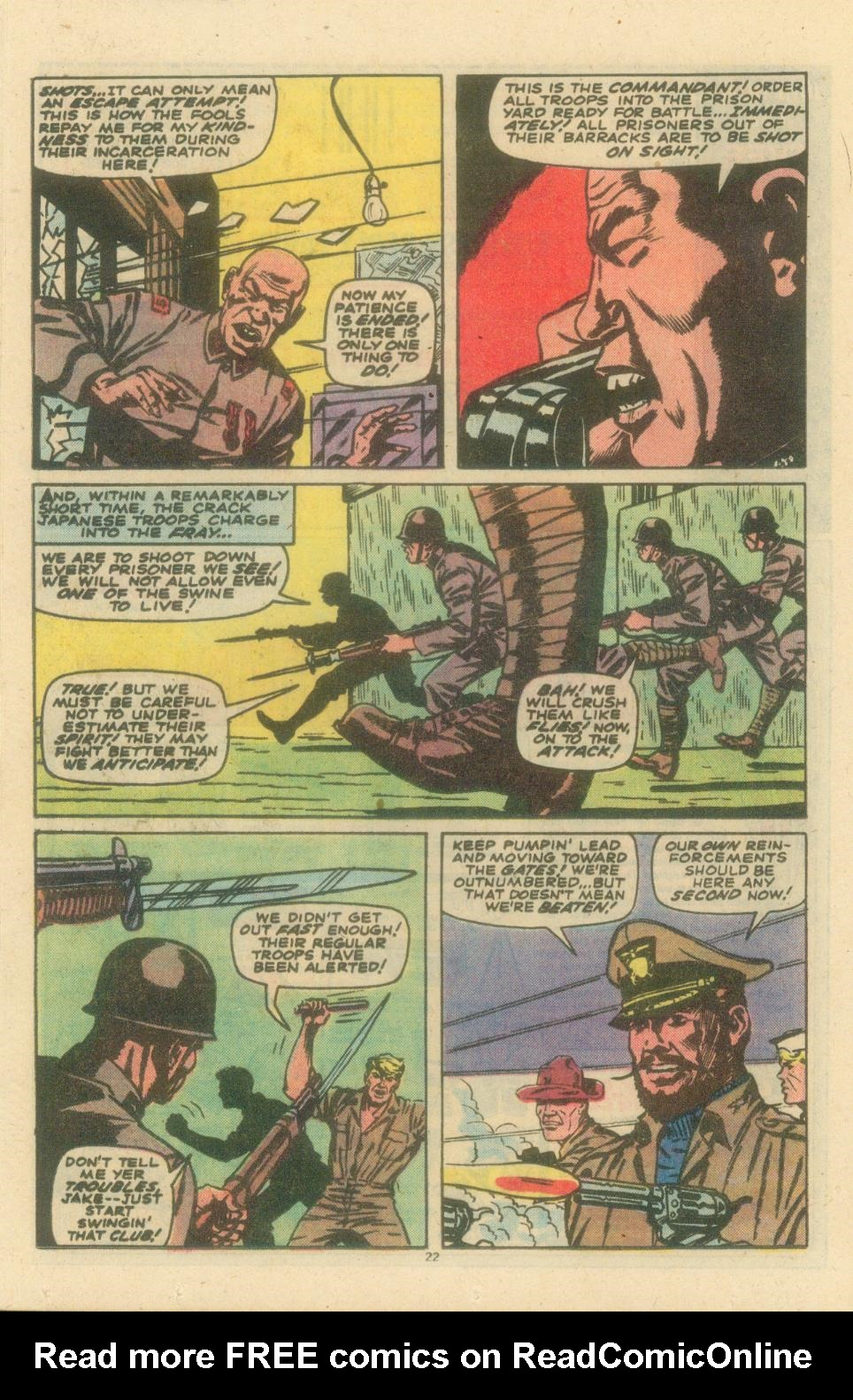Read online Sgt. Fury comic -  Issue #154 - 24