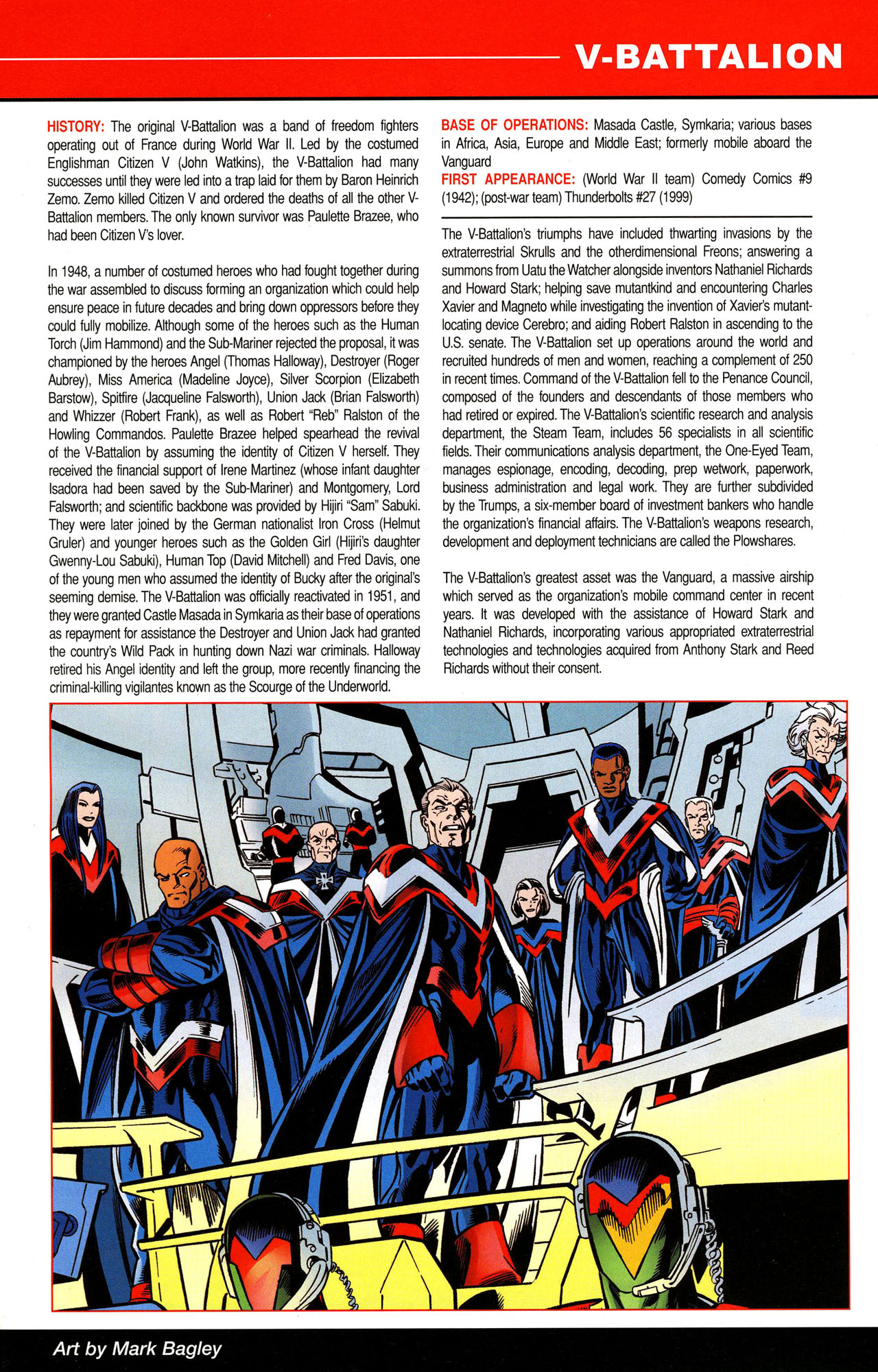 Read online All-New Official Handbook of the Marvel Universe A to Z comic -  Issue #12 - 13