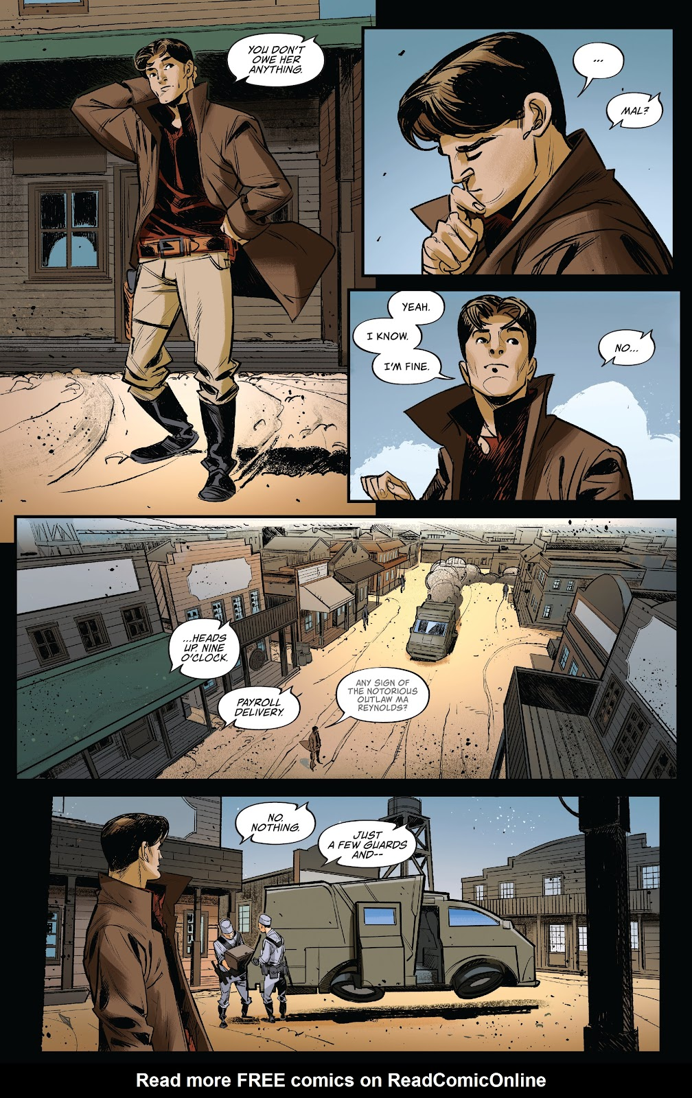 Read online Firefly: The Outlaw Ma Reynolds comic -  Issue # Full - 29