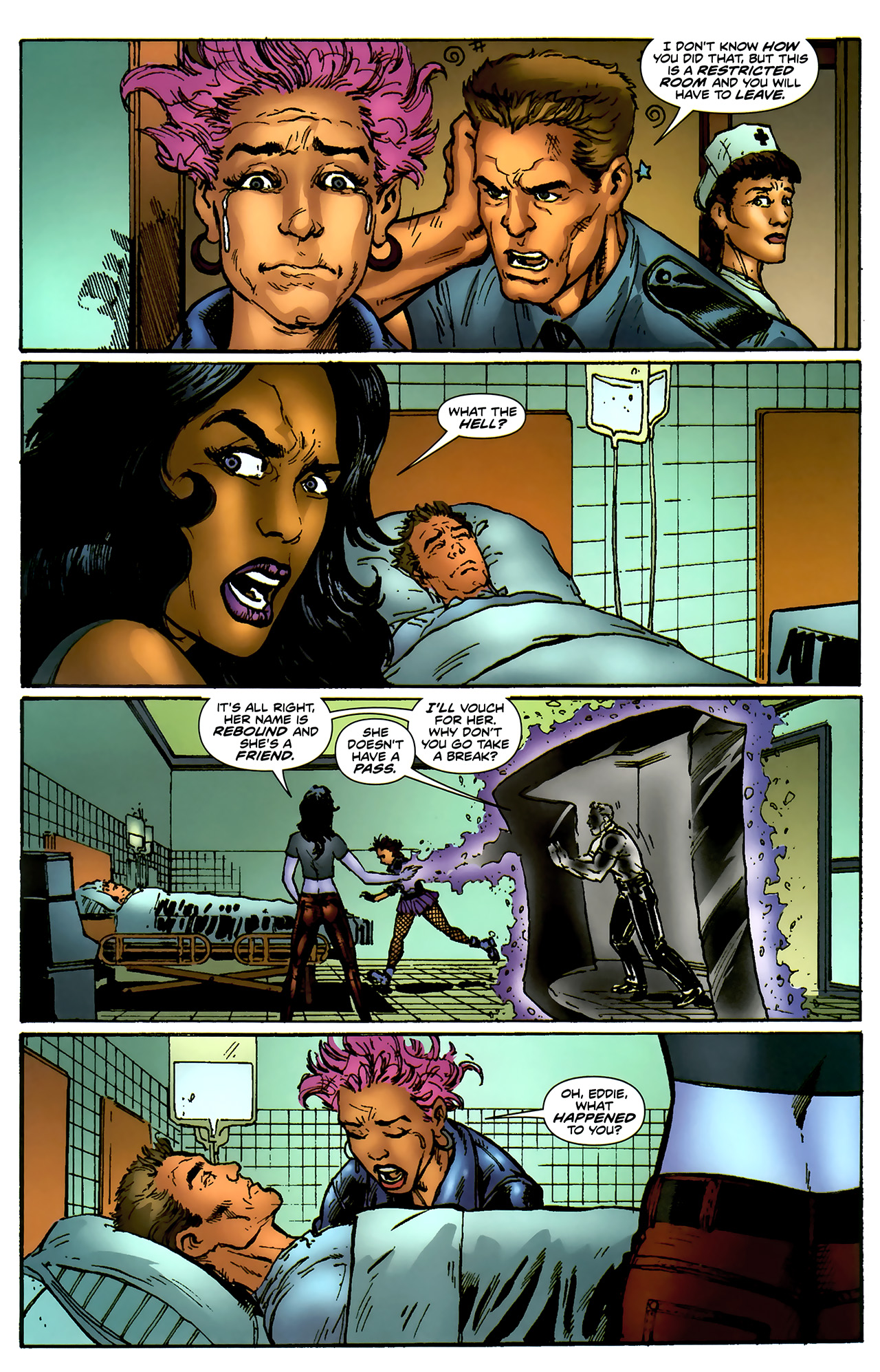 Read online ShadowHawk (2010) comic -  Issue #4 - 15