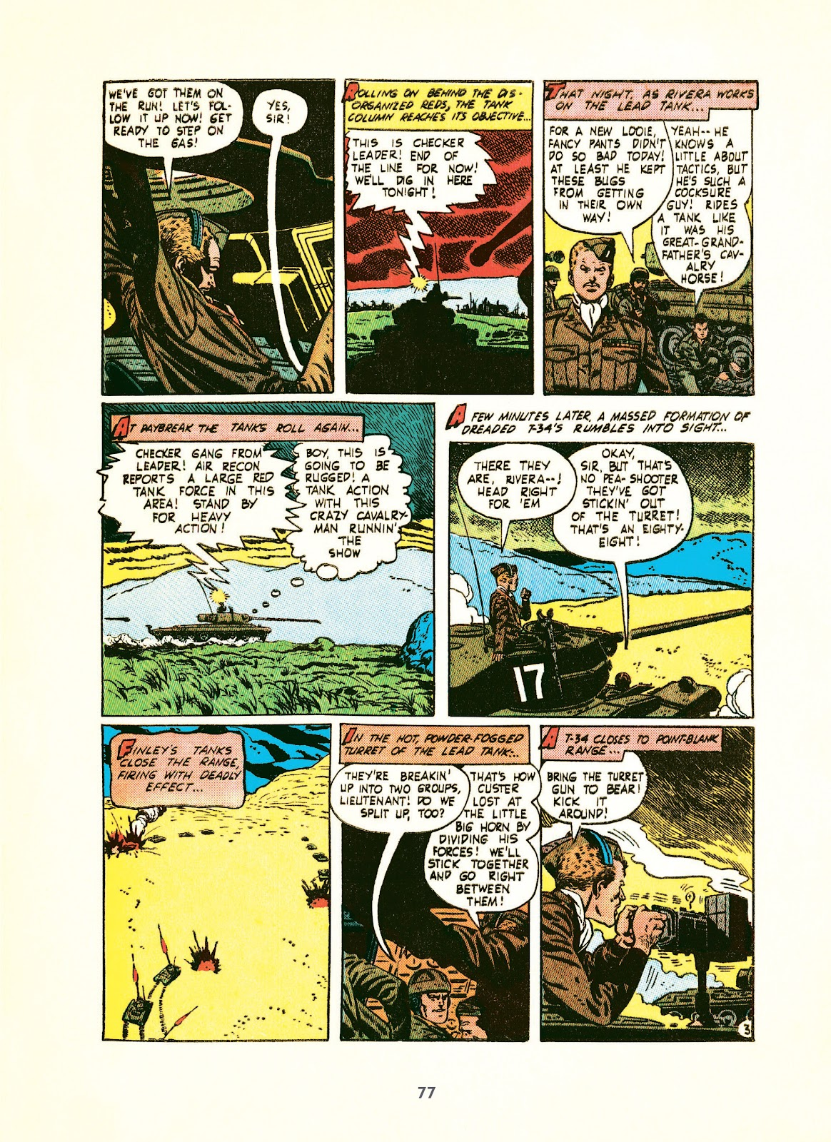 Read online Setting the Standard: Comics by Alex Toth 1952-1954 comic -  Issue # TPB (Part 1) - 76