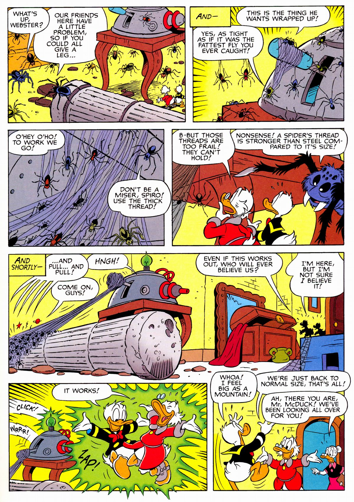 Read online Uncle Scrooge (1953) comic -  Issue #326 - 25