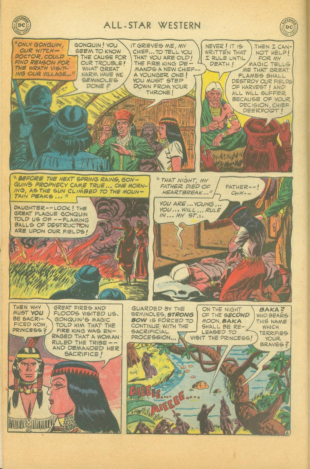 Read online All-Star Western (1951) comic -  Issue #61 - 6