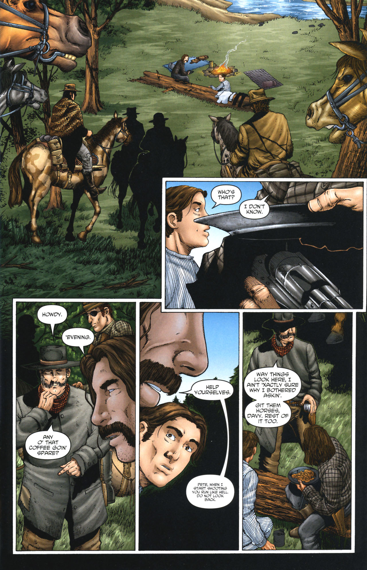 Read online Garth Ennis' Streets of Glory comic -  Issue #1 - 9