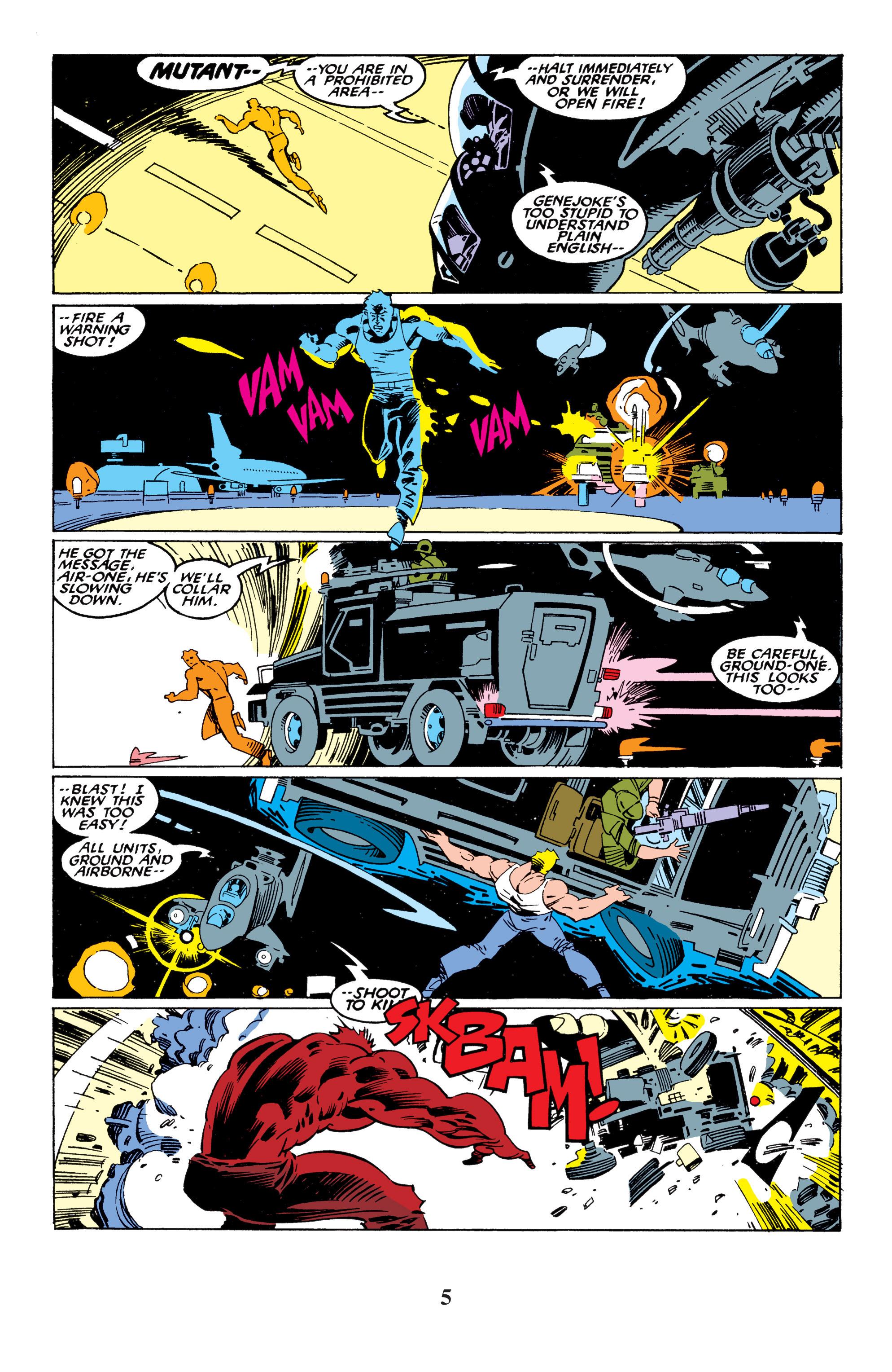 Read online Uncanny X-Men (1963) comic -  Issue #235 - 5