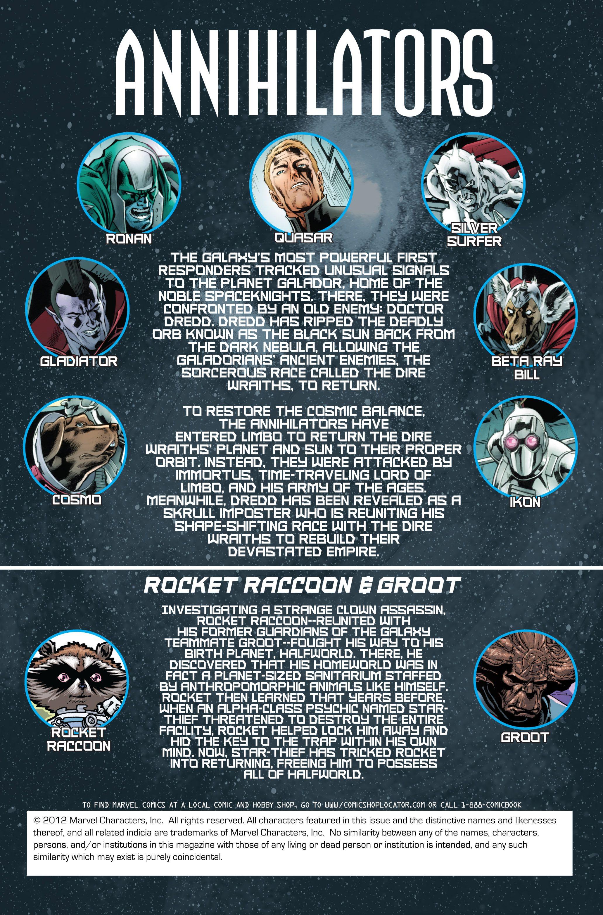 Read online Annihilators comic -  Issue #4 - 2