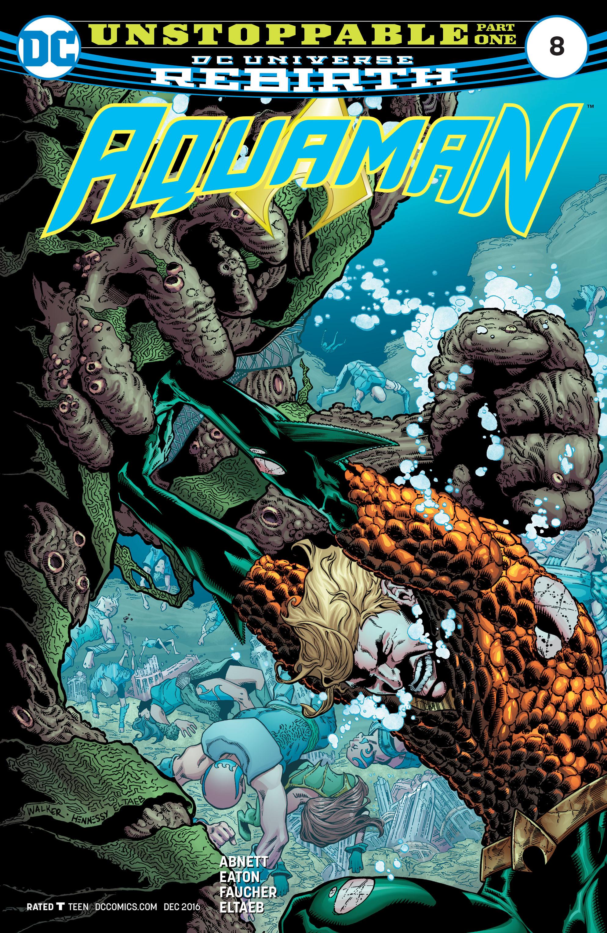 Read online Aquaman (2016) comic -  Issue #8 - 1