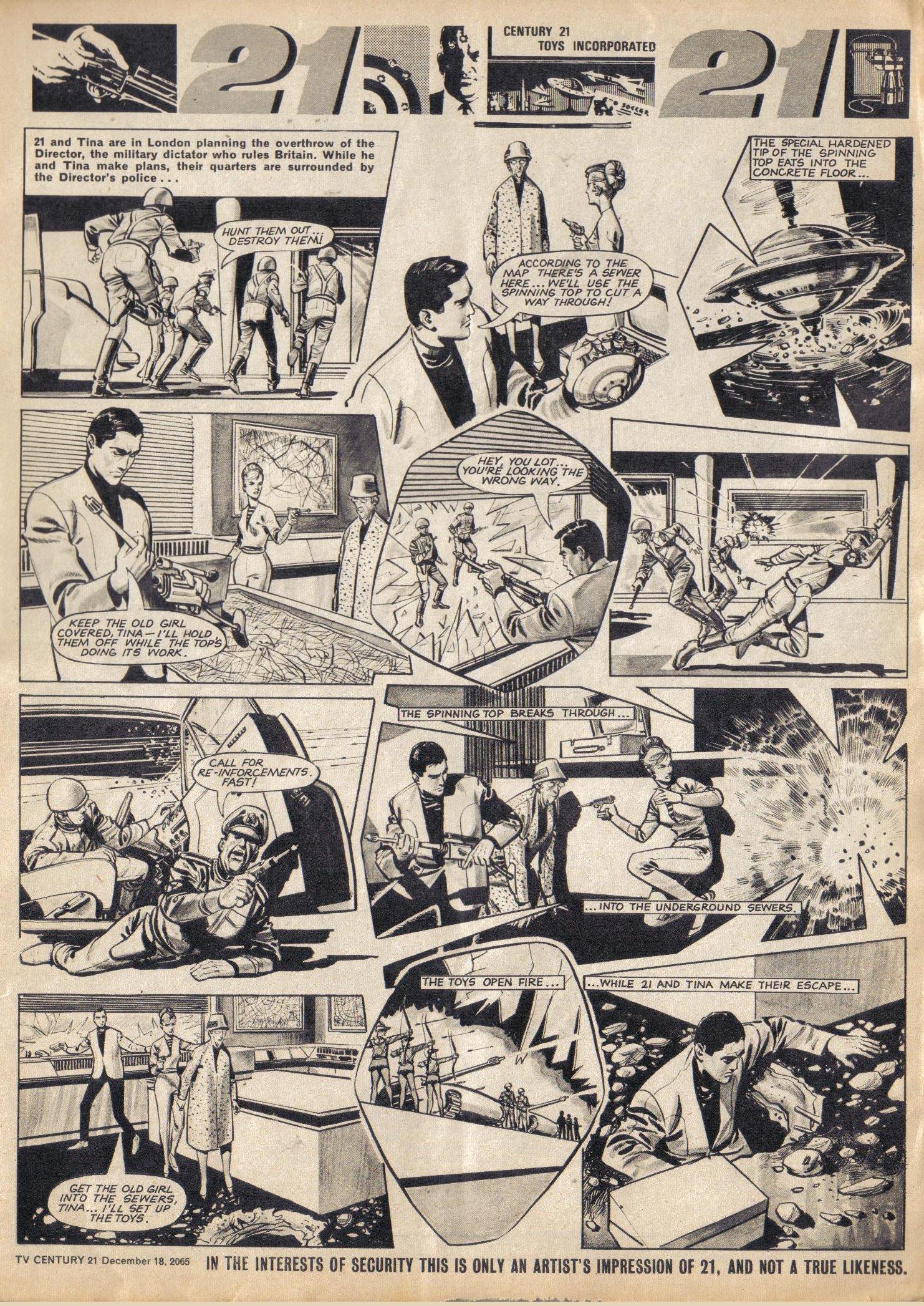 Read online TV Century 21 (TV 21) comic -  Issue #48 - 7