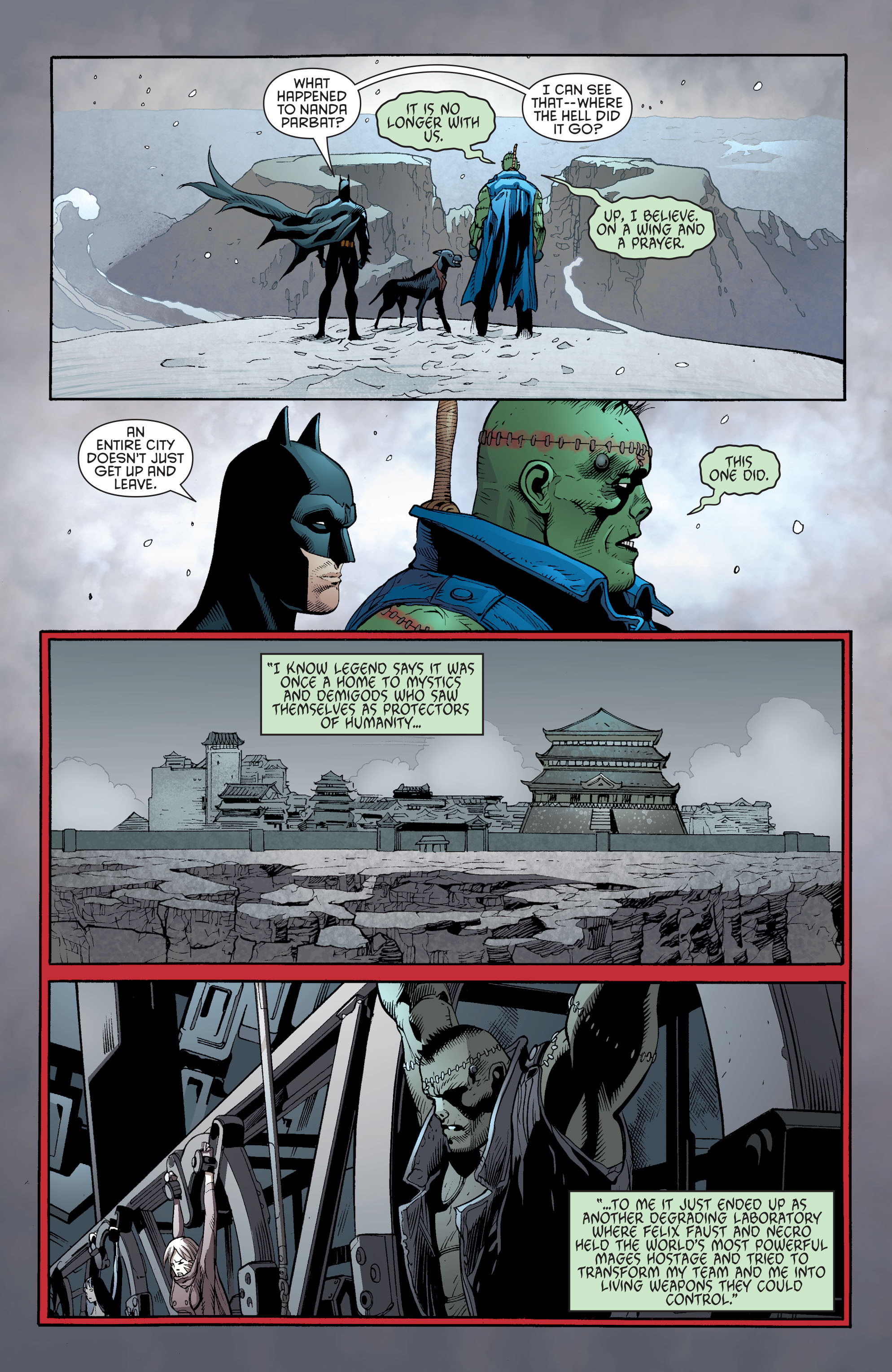 Read online Batman and Robin (2011) comic -  Issue #31 - Batman and Frankenstein - 9