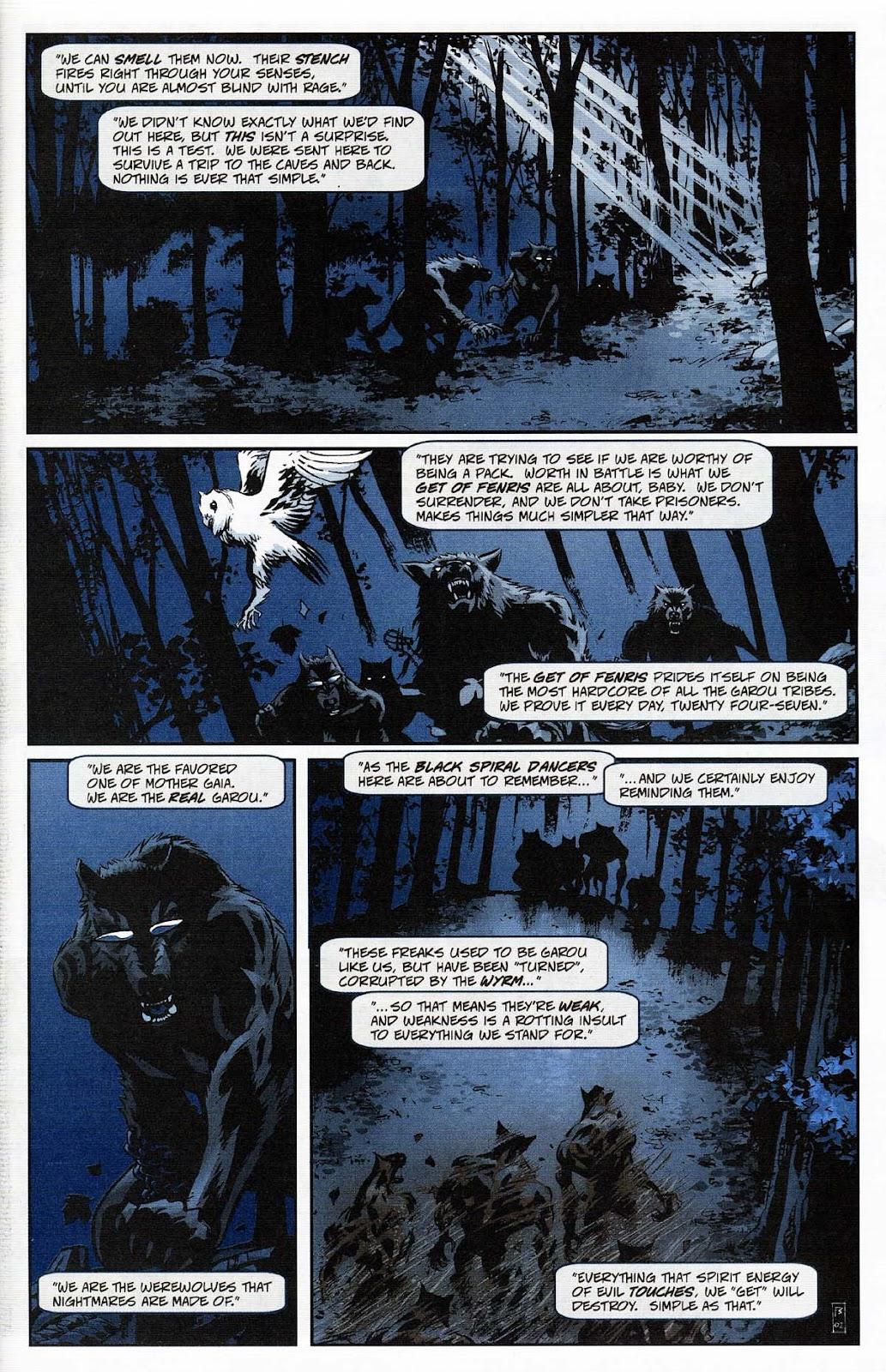 Read online Werewolf the Apocalypse comic -  Issue # Get of Fenris - 3