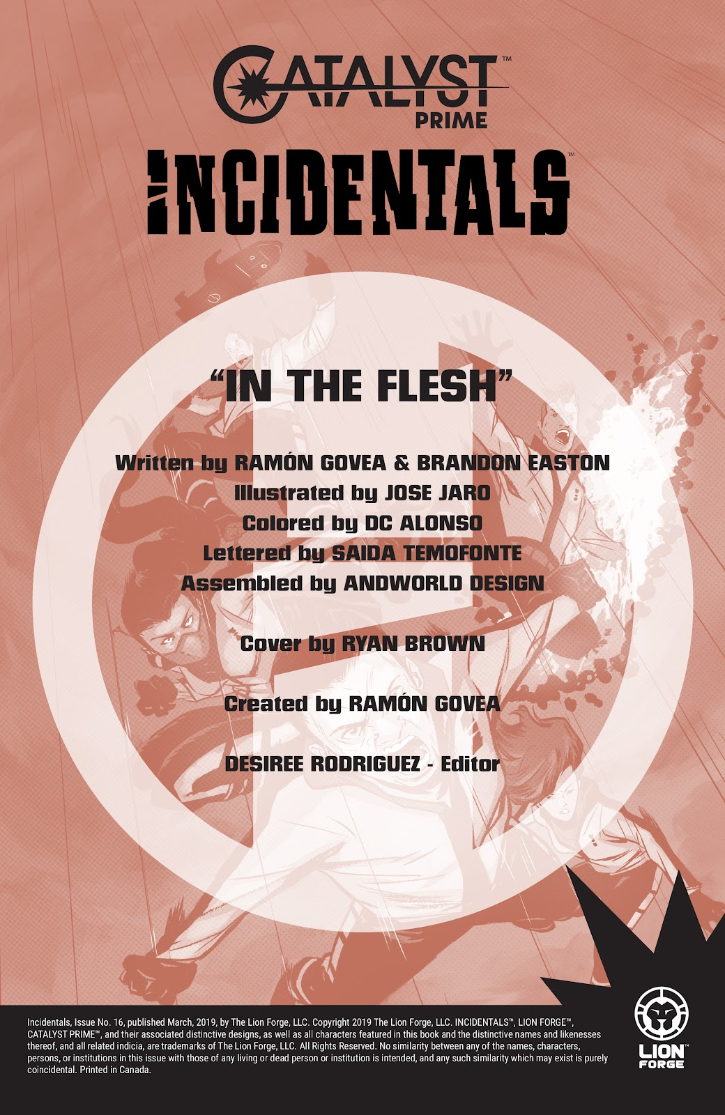 Read online Incidentals comic -  Issue #16 - 2