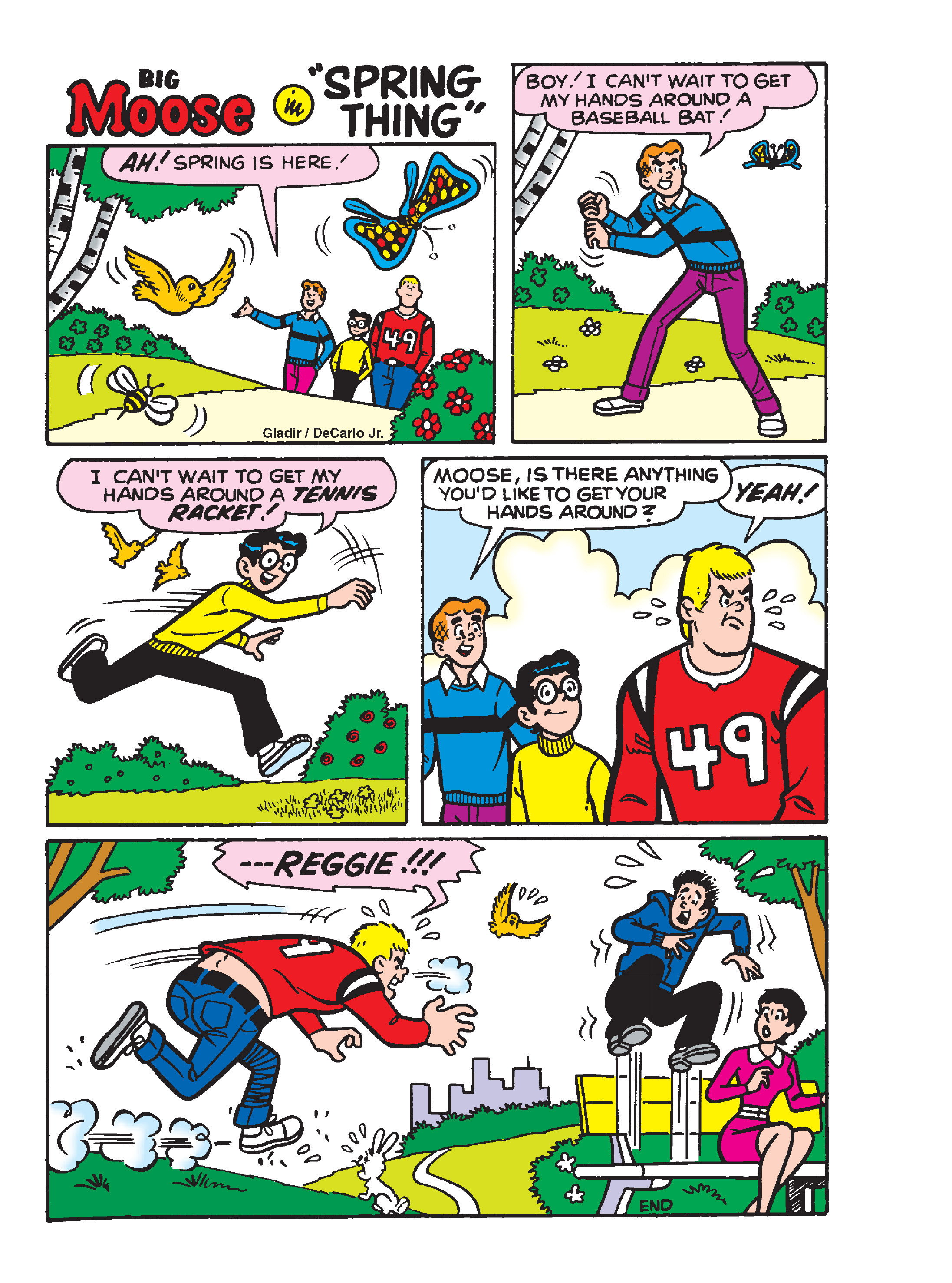 Read online Archie's Funhouse Double Digest comic -  Issue #13 - 93