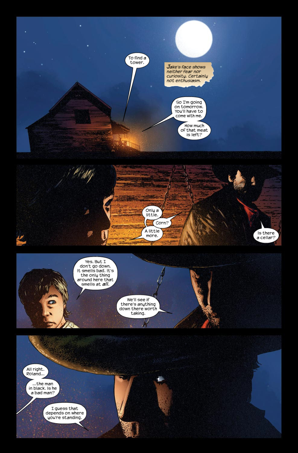 Read online Dark Tower: The Gunslinger - The Way Station comic -  Issue #3 - 11