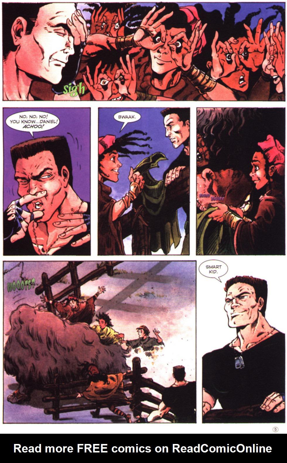 Read online Stargate comic -  Issue #2 - 7