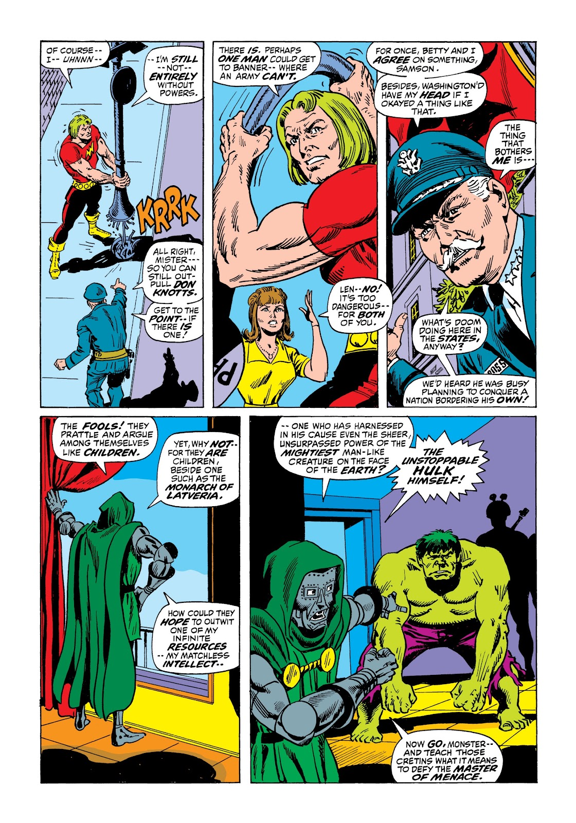 Read online Marvel Masterworks: The Incredible Hulk comic -  Issue # TPB 7 (Part 2) - 94