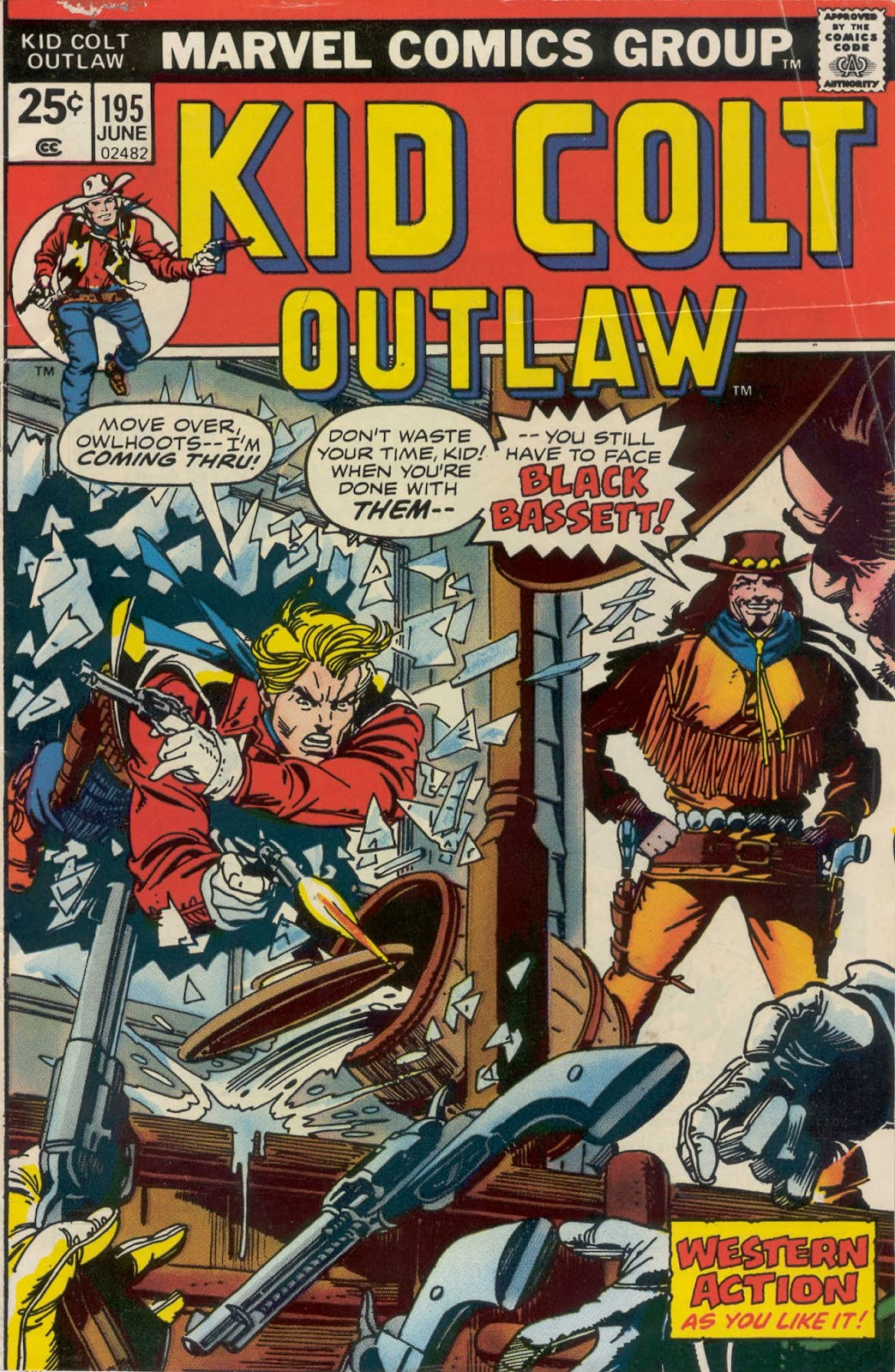 Kid Colt Outlaw issue 195 - Page 1