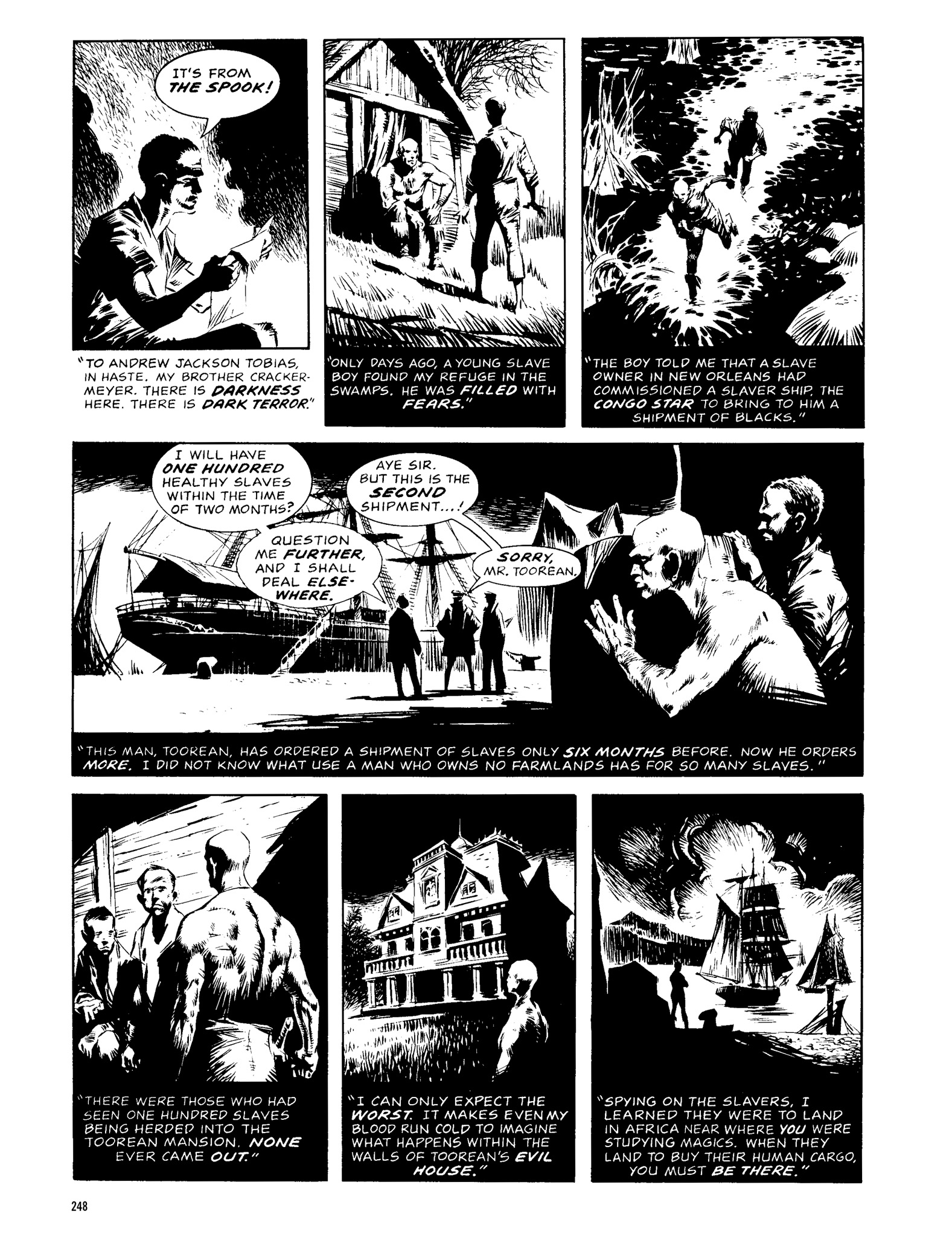 Read online Eerie Archives comic -  Issue # TPB 13 - 249