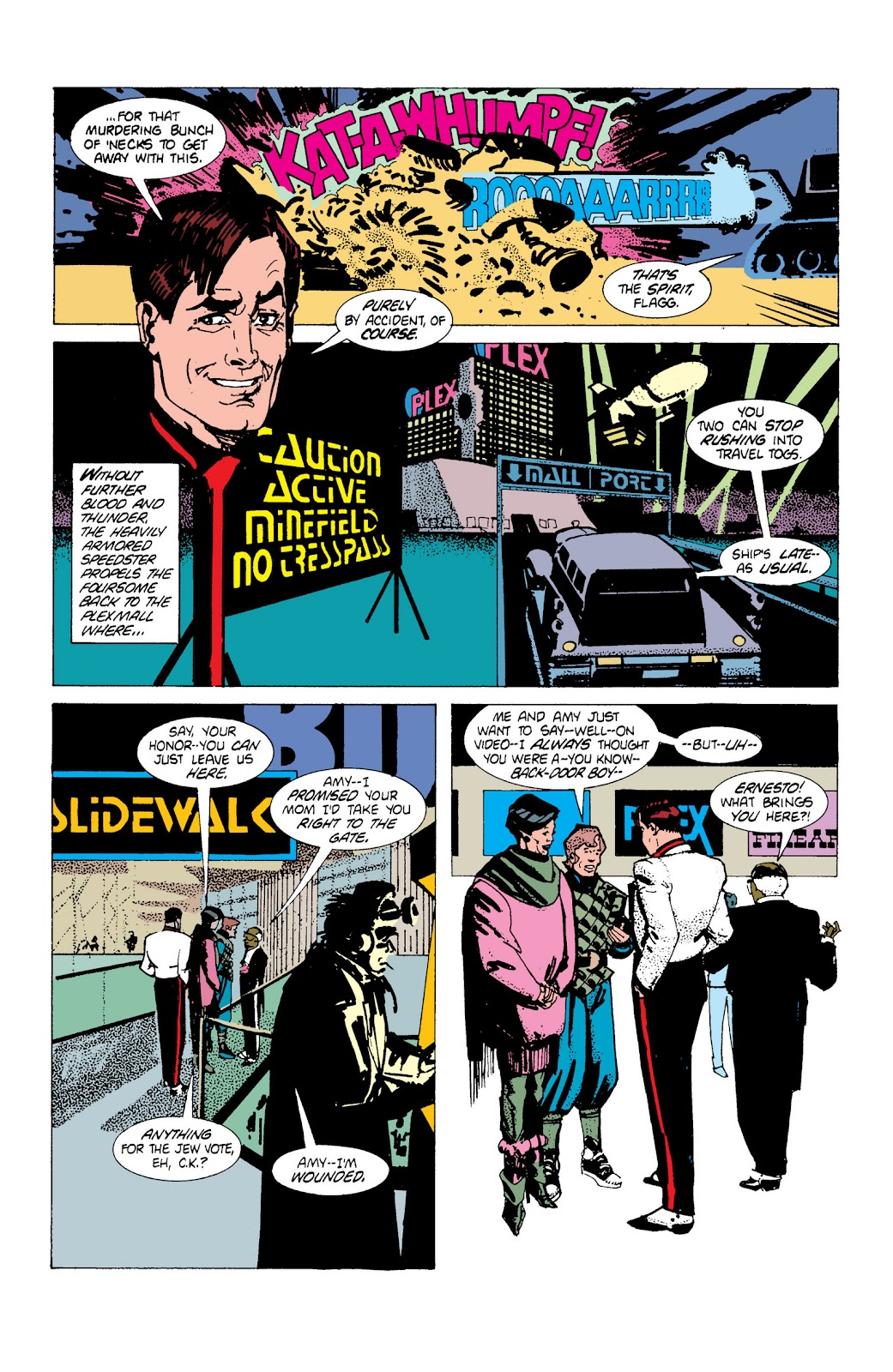 American Flagg! issue Definitive Collection (Part 1) - Page 66