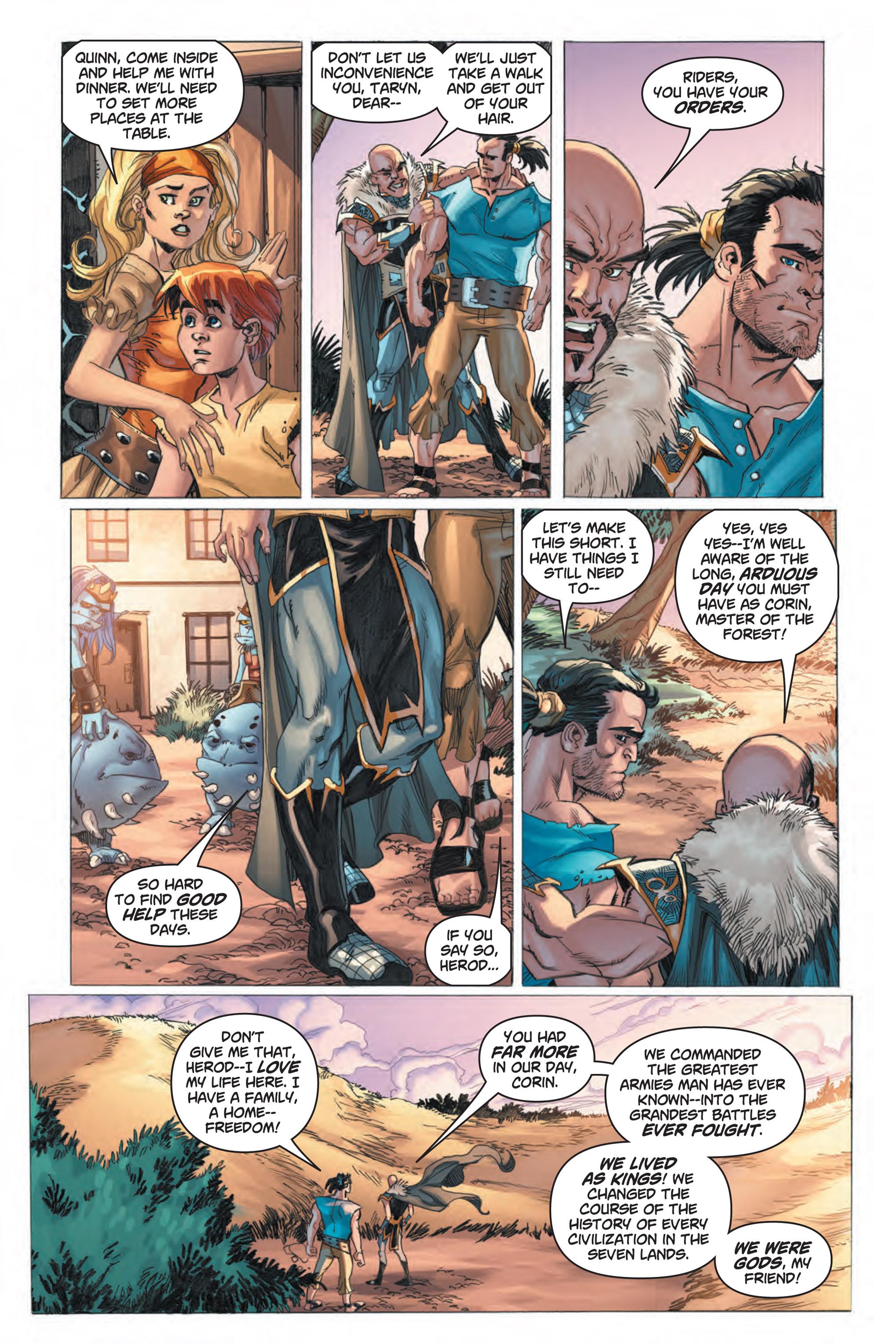Read online Skyward comic -  Issue #1 - 16